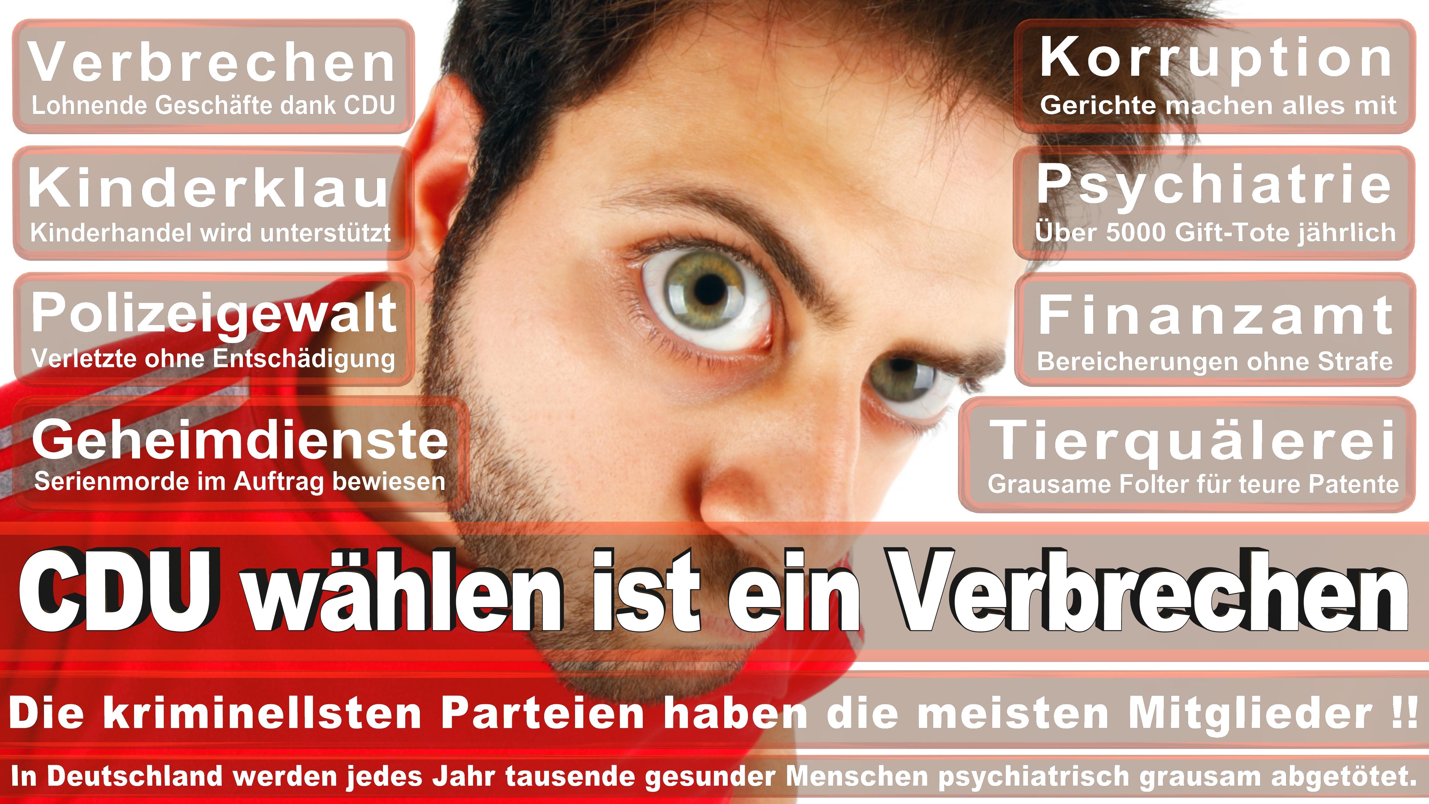 Charles M Huber CDU Hessen Politiker Deutschland