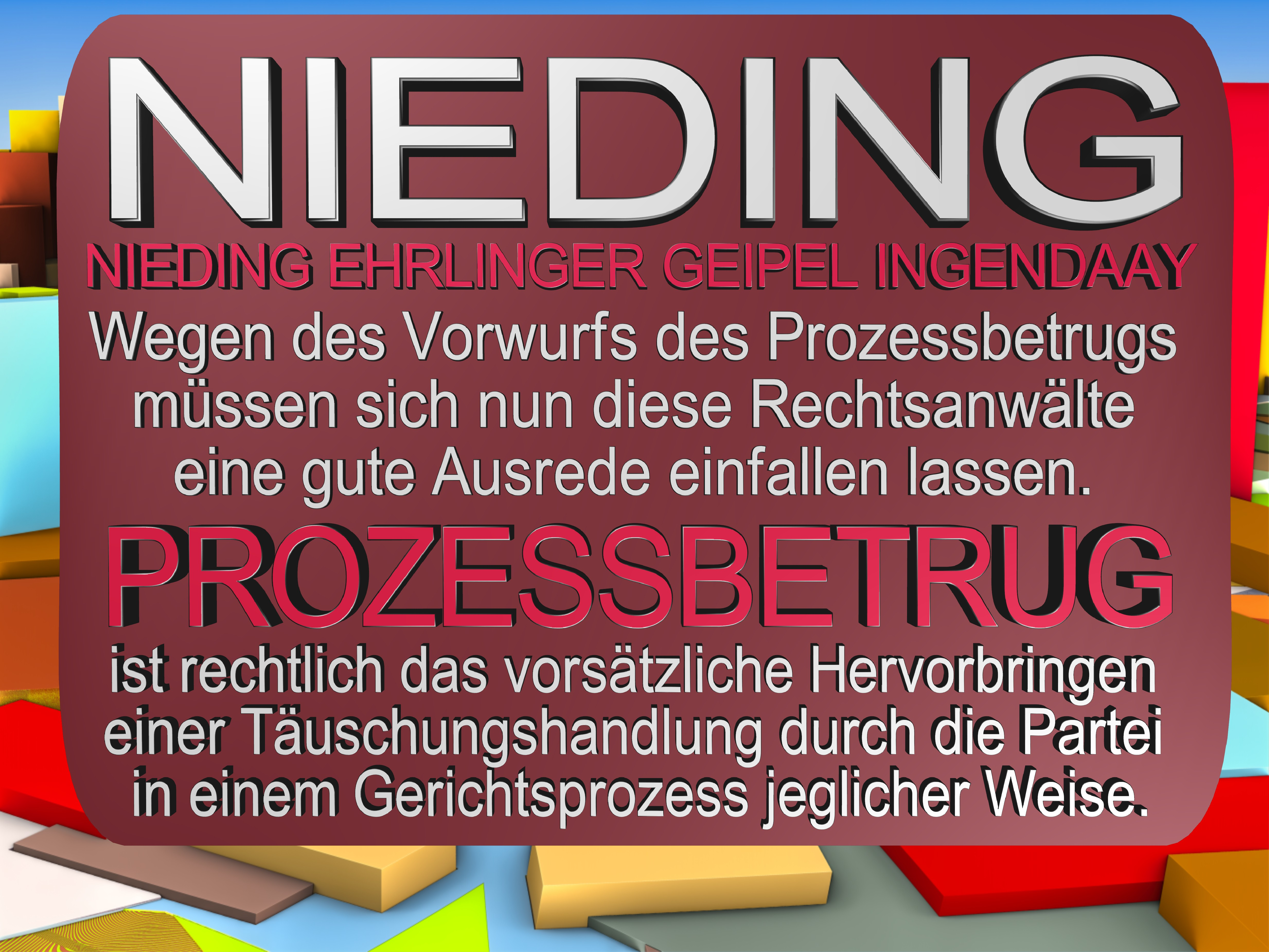 NIEDING EHRLINGER GEIPEL INGENDAAY LELKE Kurfürstendamm 66 Berlin (112)
