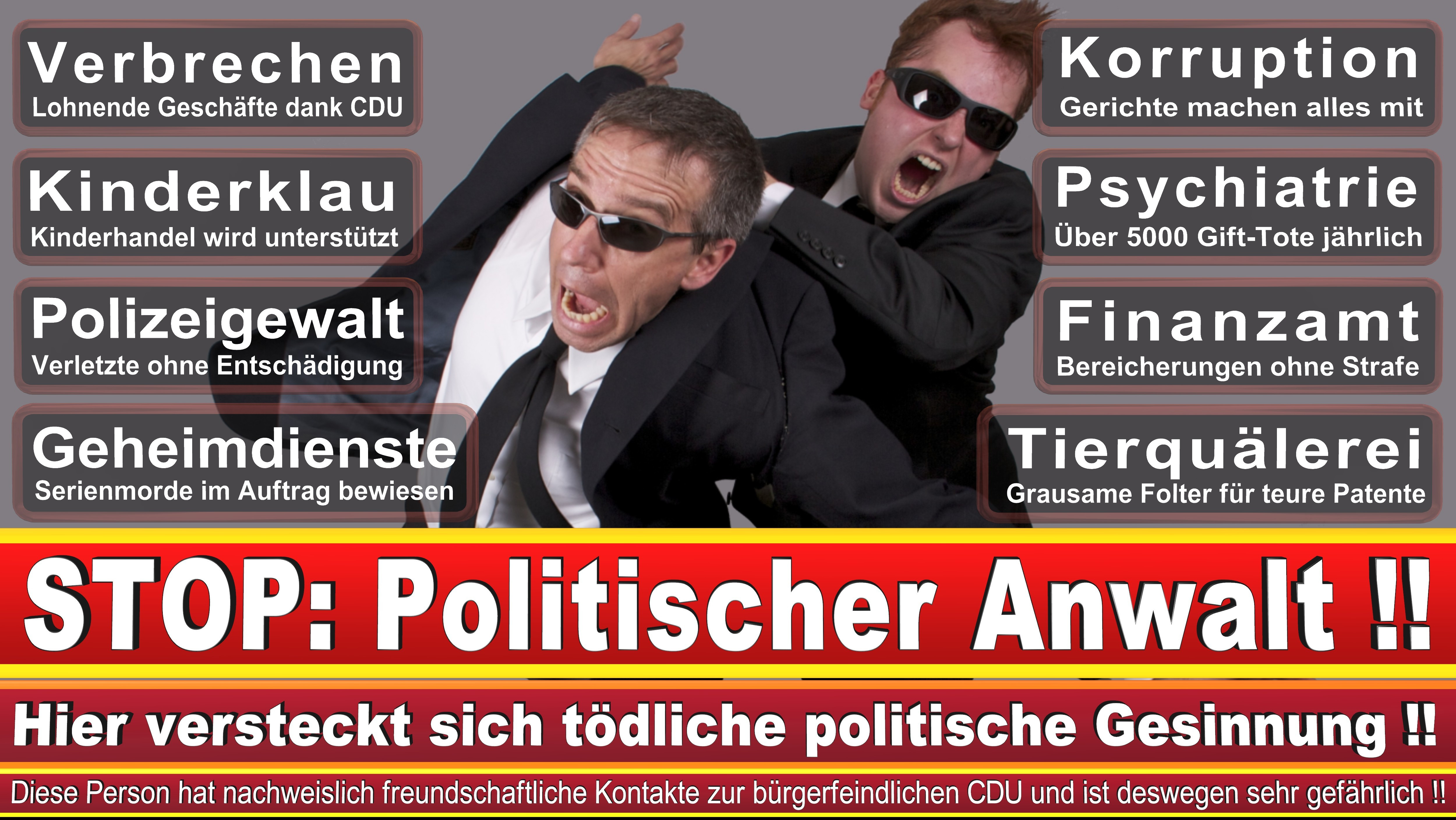 Rechtsanwalt Bernhard Stehfest Berlin CDU Berlin