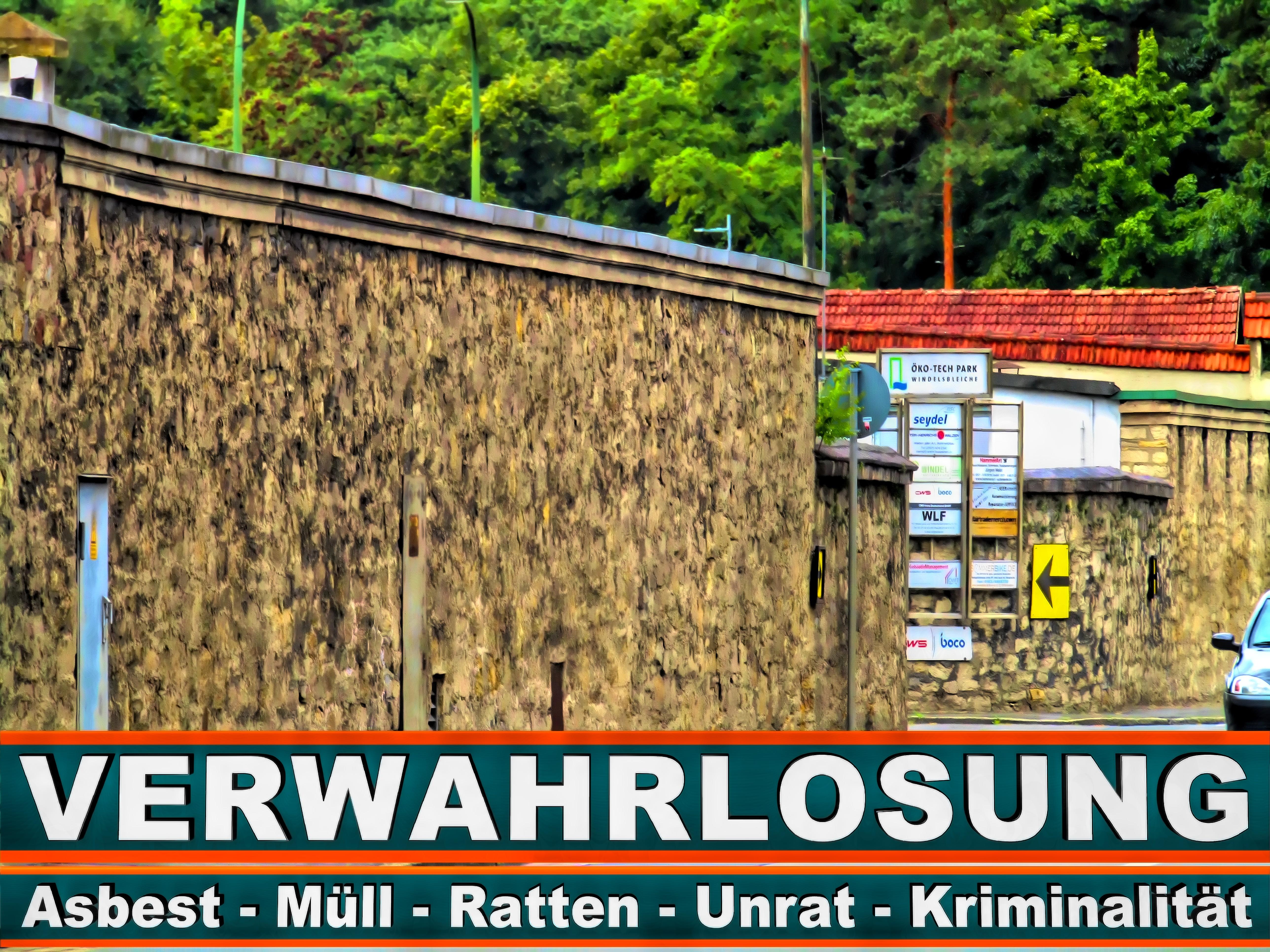 Öko Tech Park Bielefeld FRANK KÖRNERT INDU Str IEVERTRETUNGEN E020