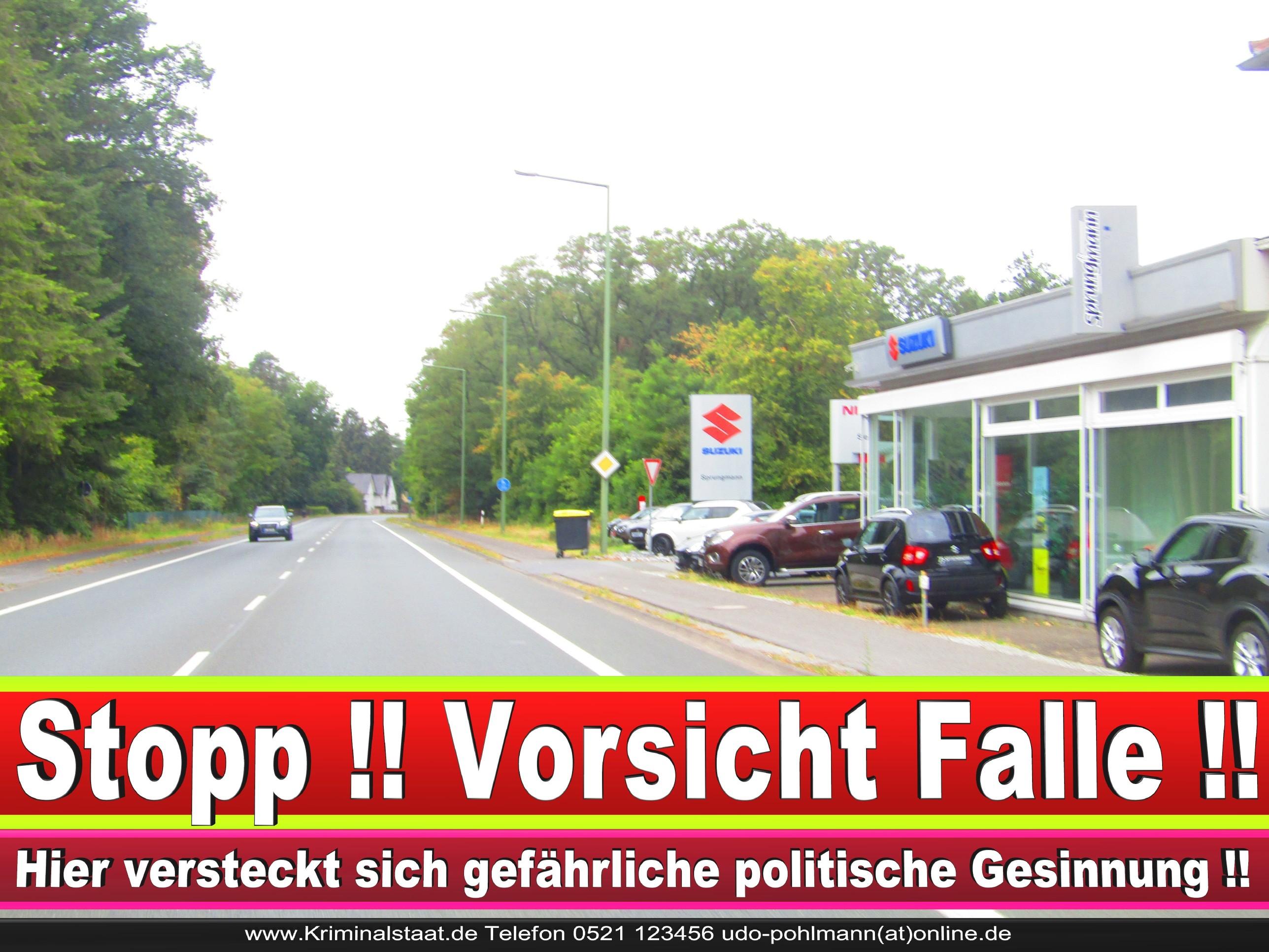 AUTOHAUS SPRUNGMANN CDU BIELEFELD 1 LANDTAGSWAHL BUNDESTAGSWAHL BÜRGERMEISTERWAHL