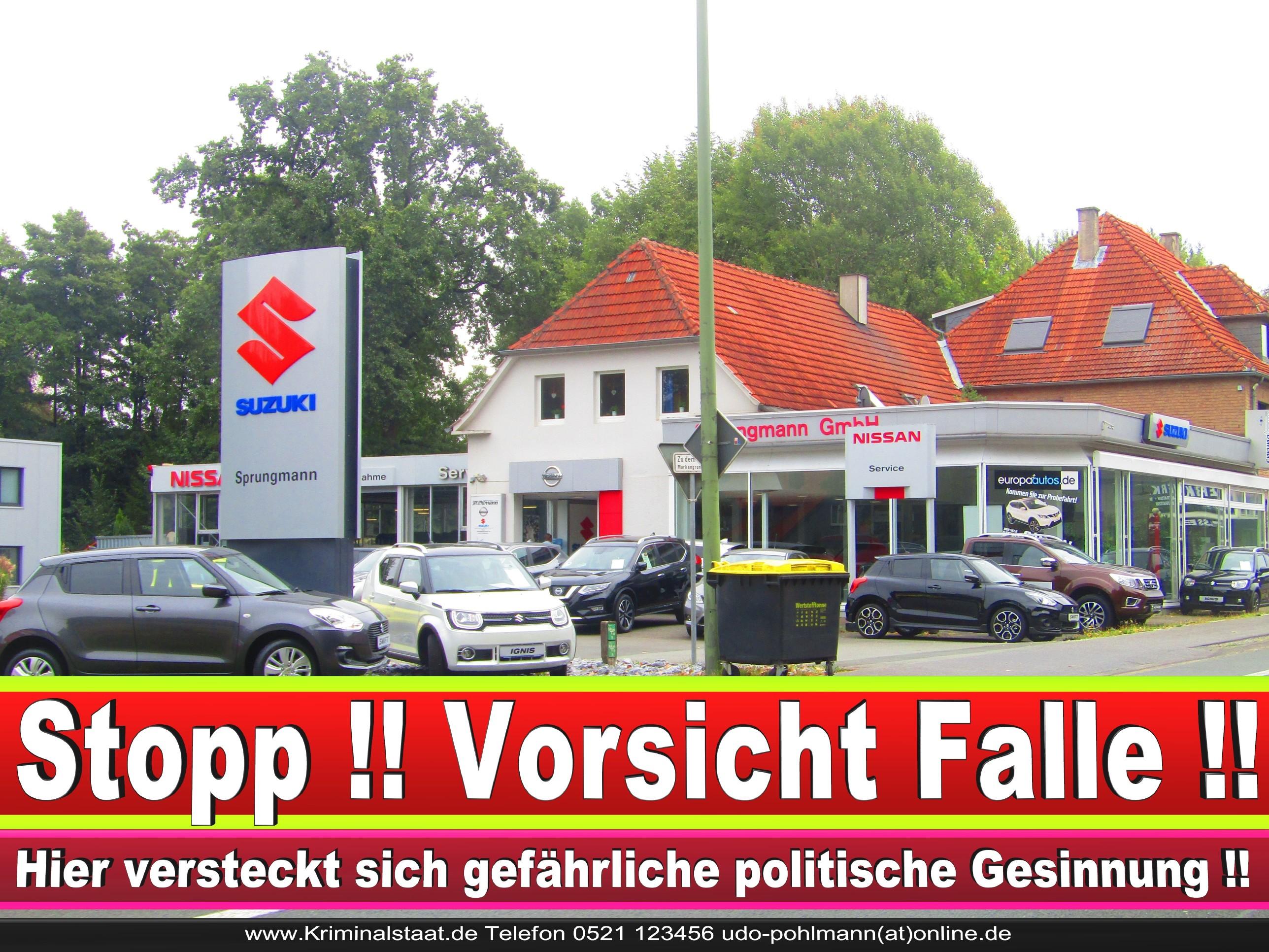 AUTOHAUS SPRUNGMANN CDU BIELEFELD 3 LANDTAGSWAHL BUNDESTAGSWAHL BÜRGERMEISTERWAHL