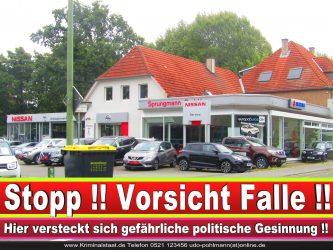 AUTOHAUS SPRUNGMANN CDU BIELEFELD 4 LANDTAGSWAHL BUNDESTAGSWAHL BÜRGERMEISTERWAHL