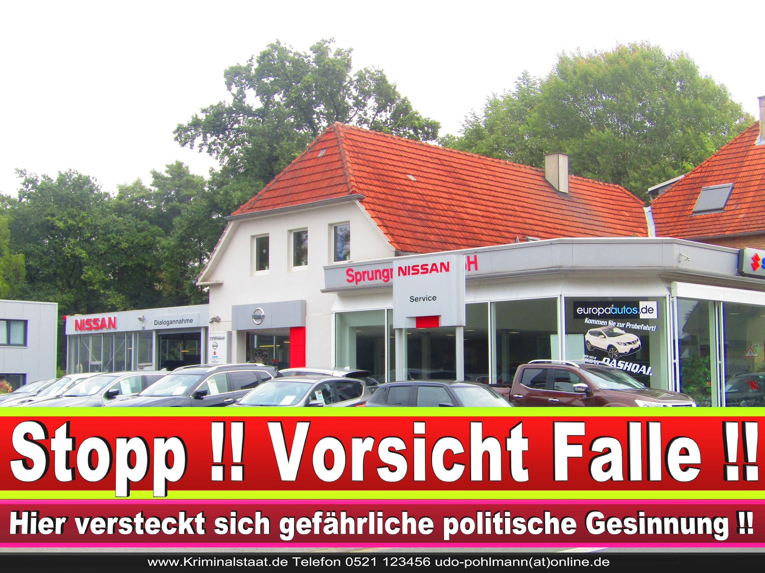 AUTOHAUS SPRUNGMANN CDU BIELEFELD 5 LANDTAGSWAHL BUNDESTAGSWAHL BÜRGERMEISTERWAHL
