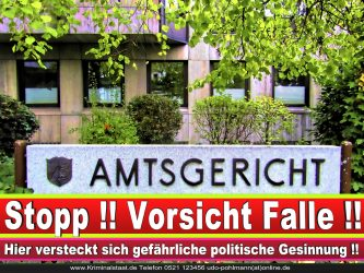 Amtsgericht Landgericht Staatsanwaltschaft Bielefeld Behörden NRW Arbeitsgericht Sozialgericht Verwaltungsgericht 1
