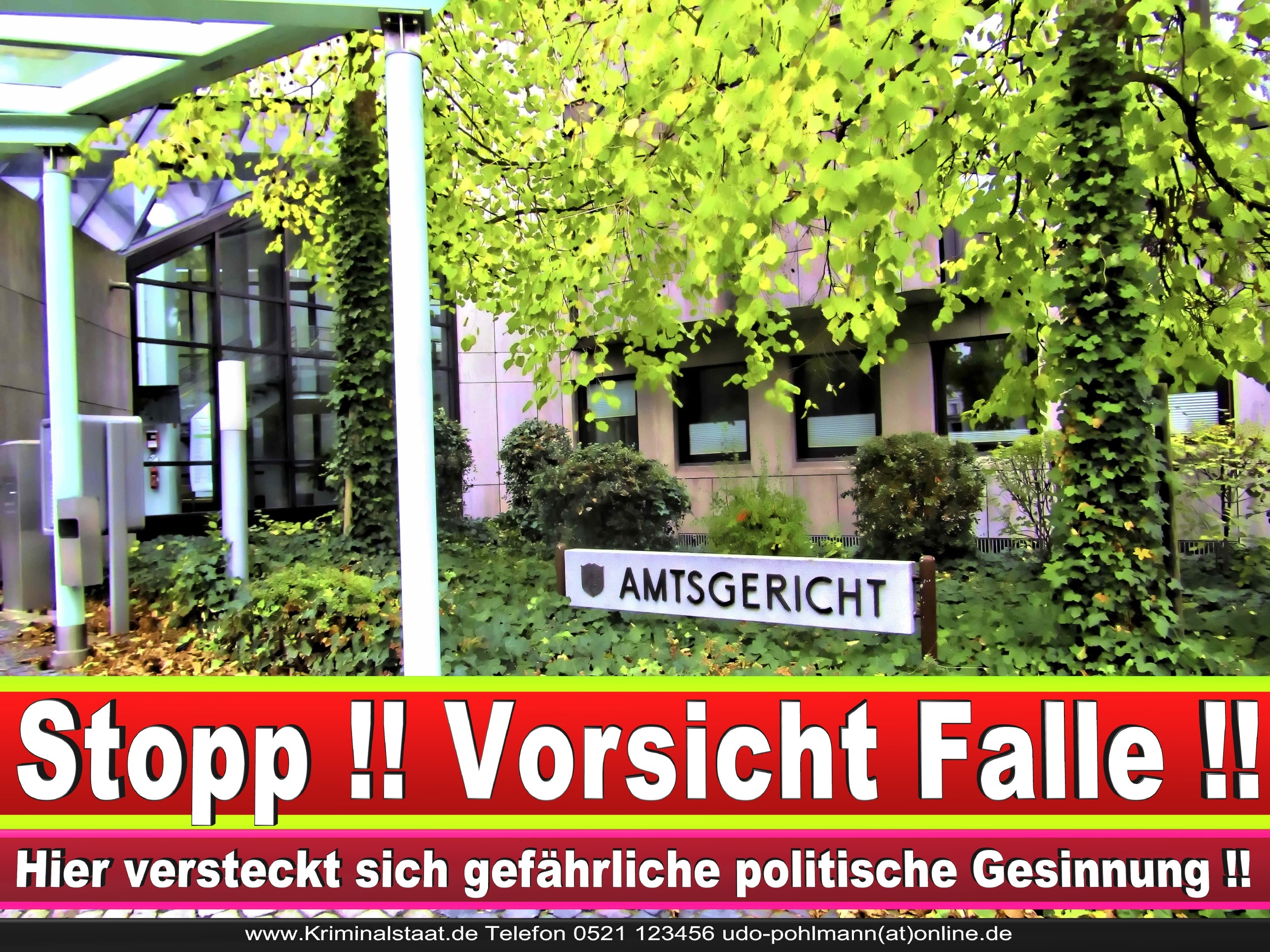 Amtsgericht Landgericht Staatsanwaltschaft Bielefeld Behörden NRW Arbeitsgericht Sozialgericht Verwaltungsgericht 3