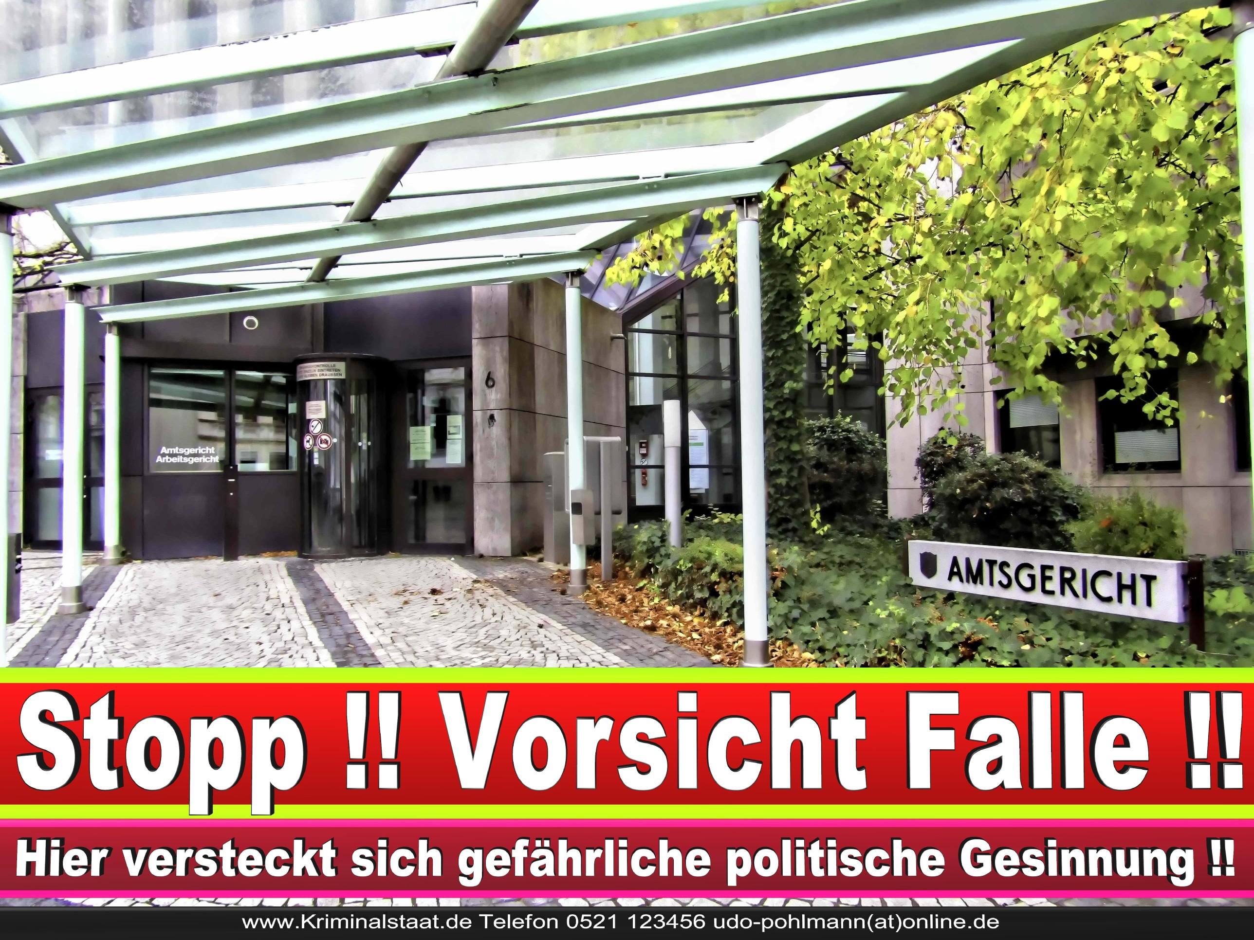 Amtsgericht Landgericht Staatsanwaltschaft Bielefeld Behörden NRW Arbeitsgericht Sozialgericht Verwaltungsgericht 5