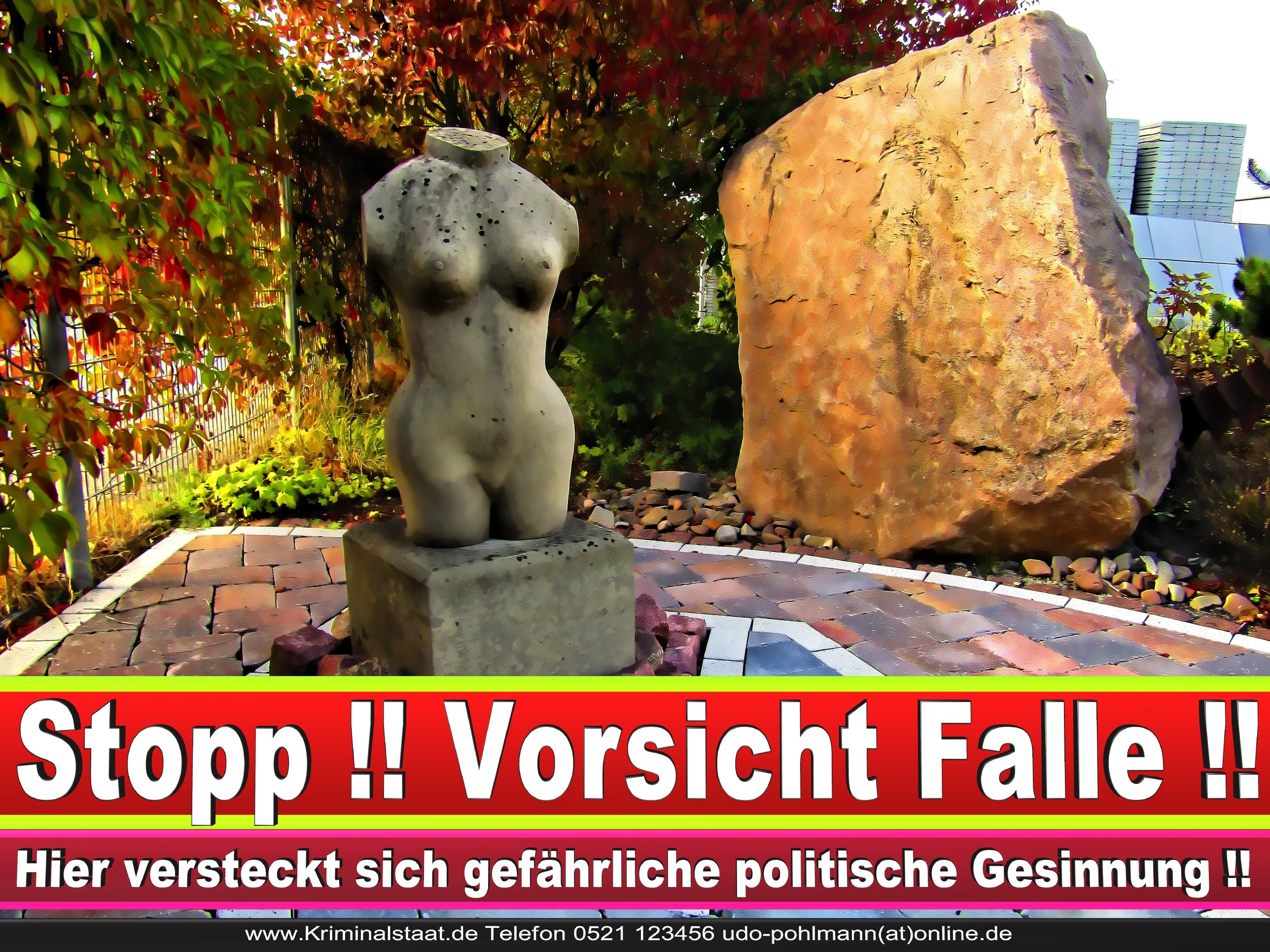 BETONWERK MÜNSTERMANN CDU GÜTERSLOH 2 LANDTAGSWAHL BUNDESTAGSWAHL BÜRGERMEISTERWAHL
