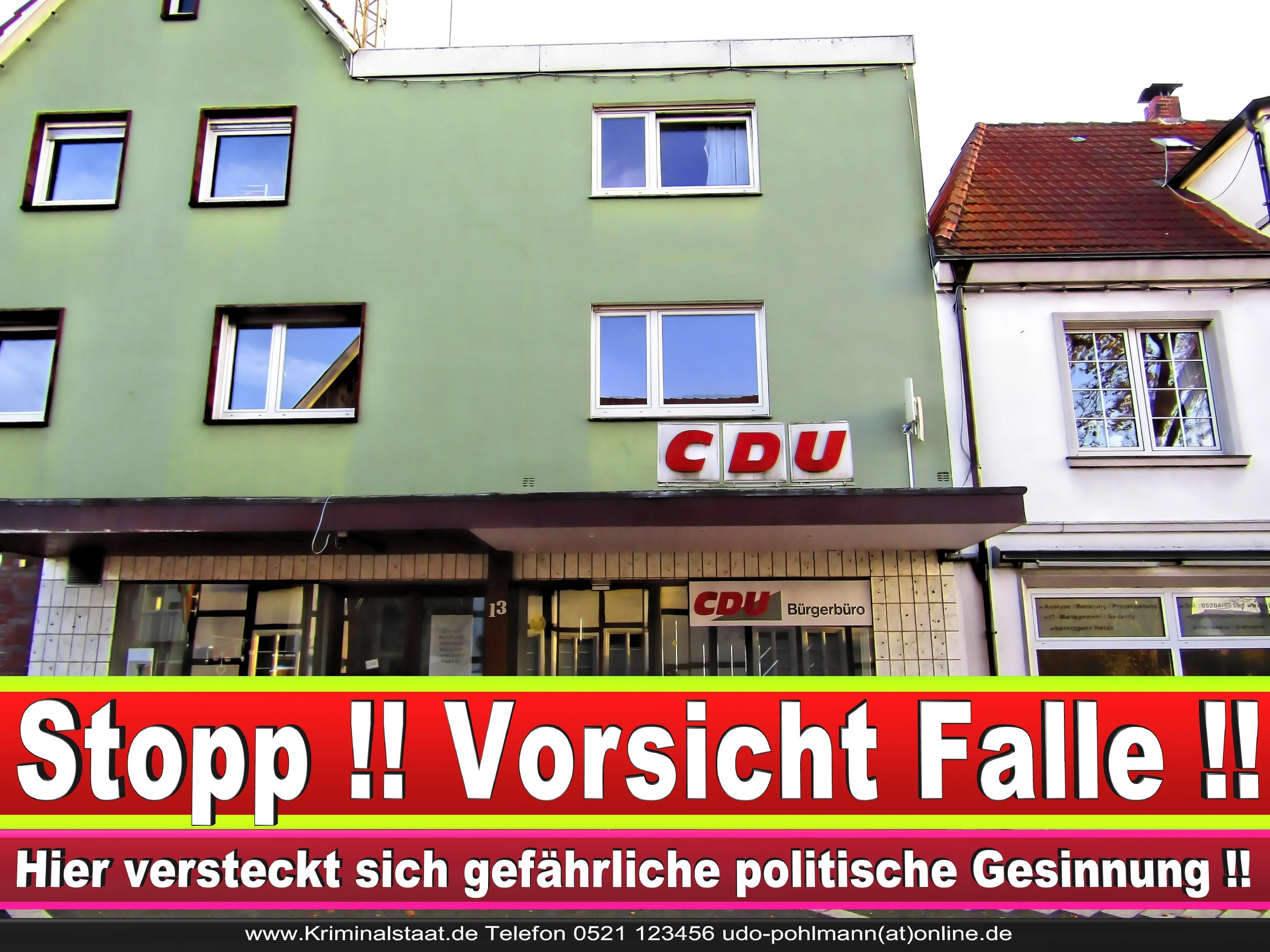 CDU Gemeindeverband Steinhagen Am Markt 13 33803 Steinhagen NRW Ortsverband CDU Steinhagen 1