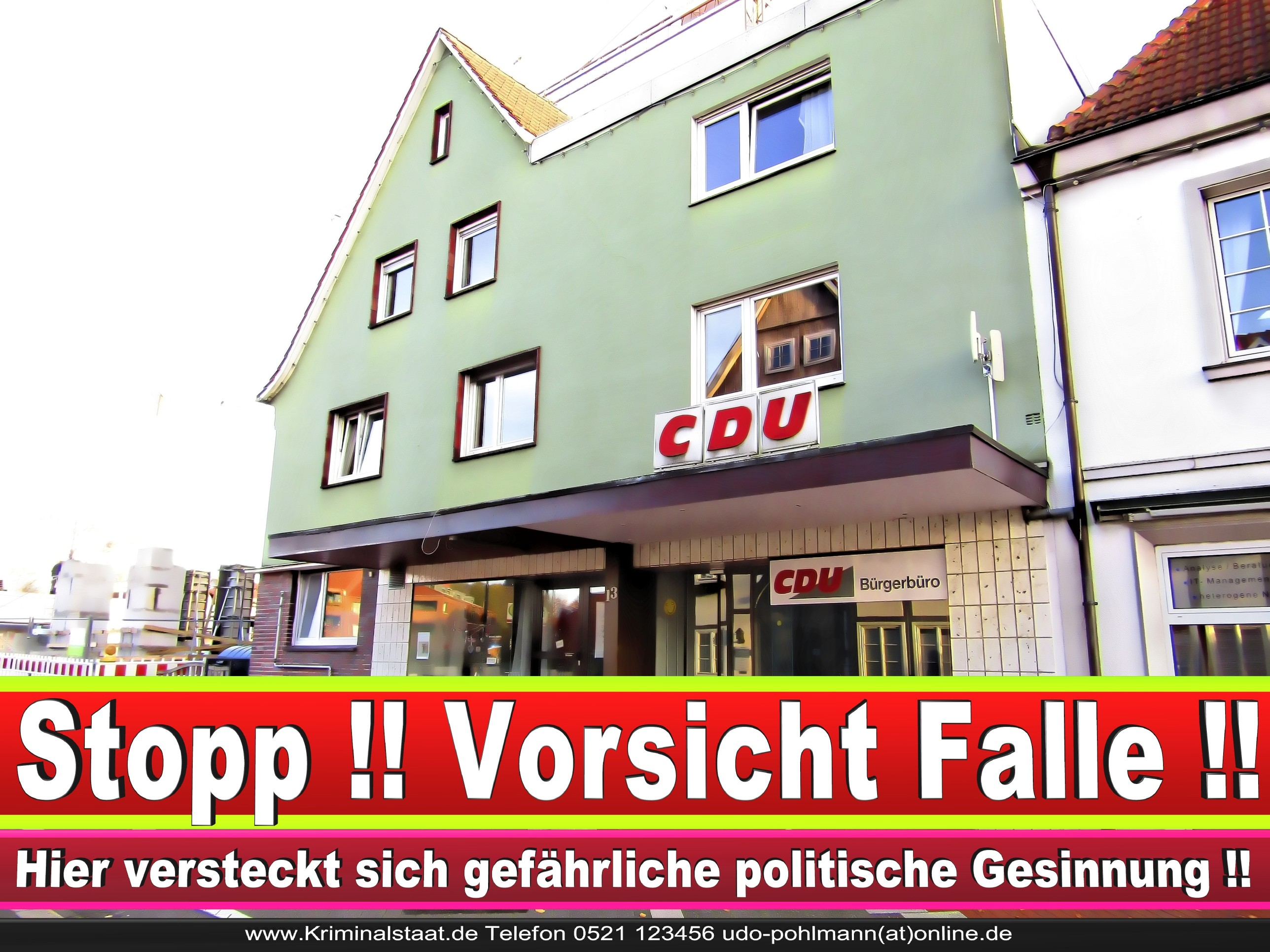 CDU Gemeindeverband Steinhagen Am Markt 13 33803 Steinhagen NRW Ortsverband CDU Steinhagen 14
