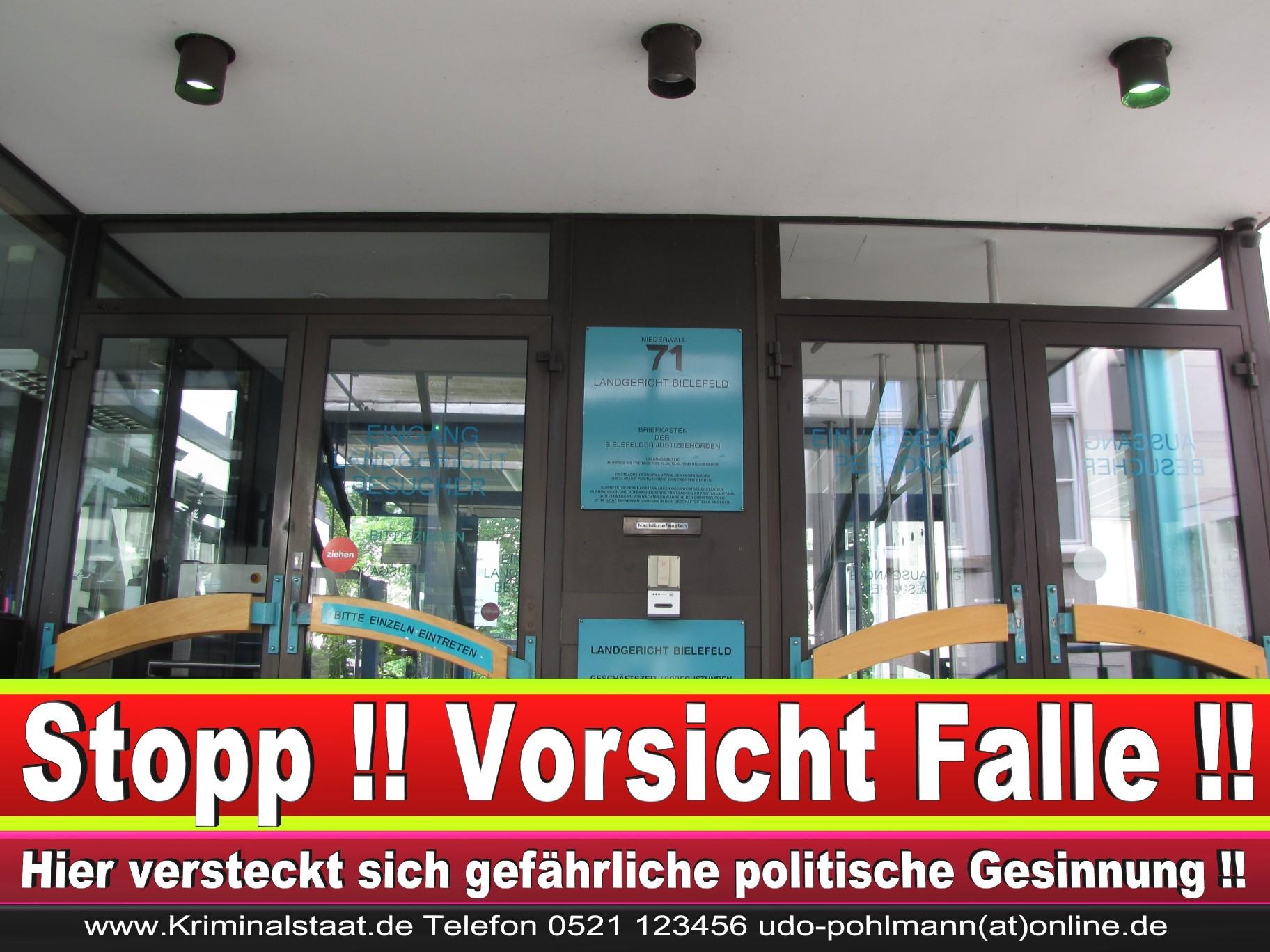 CDU Landgericht Bielefeld Landgerichtspräsident Klaus Petermann Hochstraße Bünde Jens Gnisa Richterbund Richtervereinigung 21