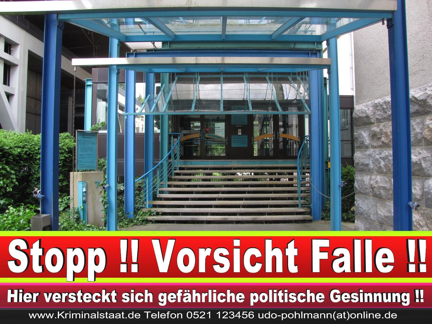 CDU Landgericht Bielefeld Landgerichtspräsident Klaus Petermann Hochstraße Bünde Jens Gnisa Richterbund Richtervereinigung 29