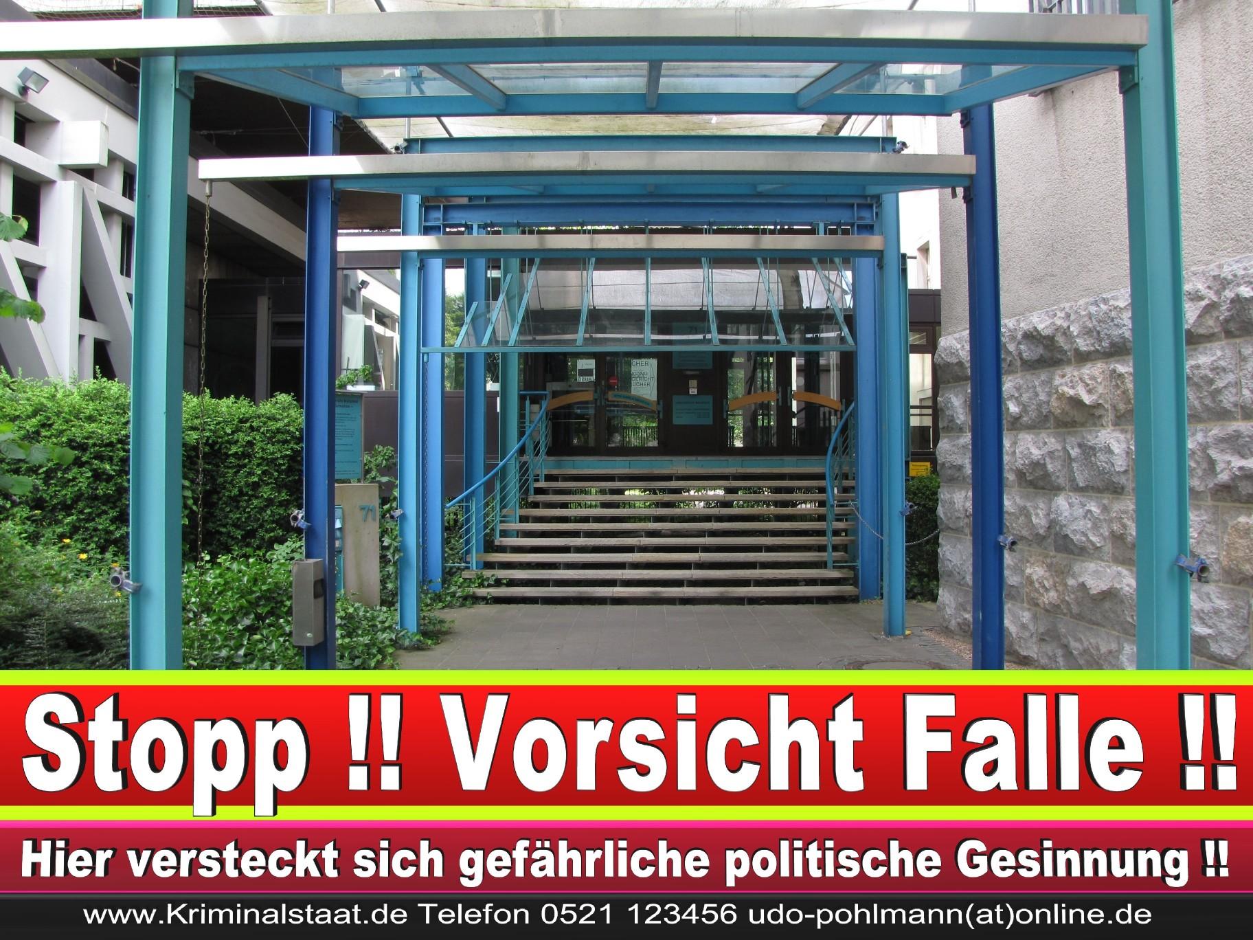 CDU Landgericht Bielefeld Landgerichtspräsident Klaus Petermann Hochstraße Bünde Jens Gnisa Richterbund Richtervereinigung 30