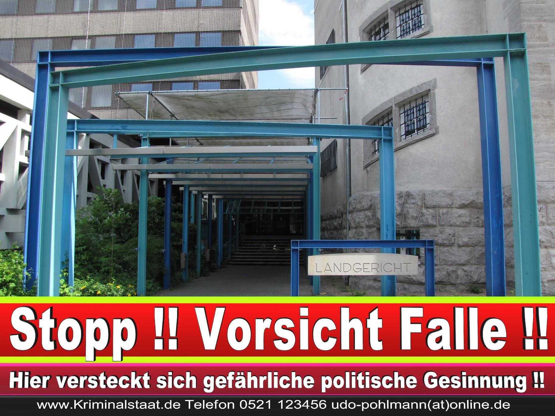 CDU Landgericht Bielefeld Landgerichtspräsident Klaus Petermann Hochstraße Bünde Jens Gnisa Richterbund Richtervereinigung 35