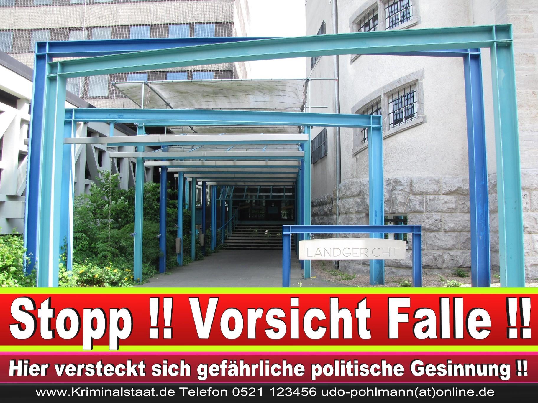 CDU Landgericht Bielefeld Landgerichtspräsident Klaus Petermann Hochstraße Bünde Jens Gnisa Richterbund Richtervereinigung 36