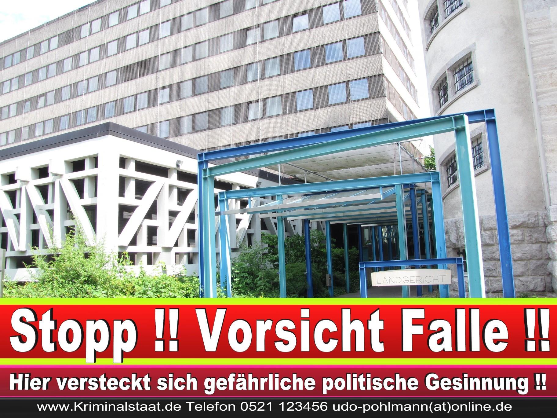 CDU Landgericht Bielefeld Landgerichtspräsident Klaus Petermann Hochstraße Bünde Jens Gnisa Richterbund Richtervereinigung 39