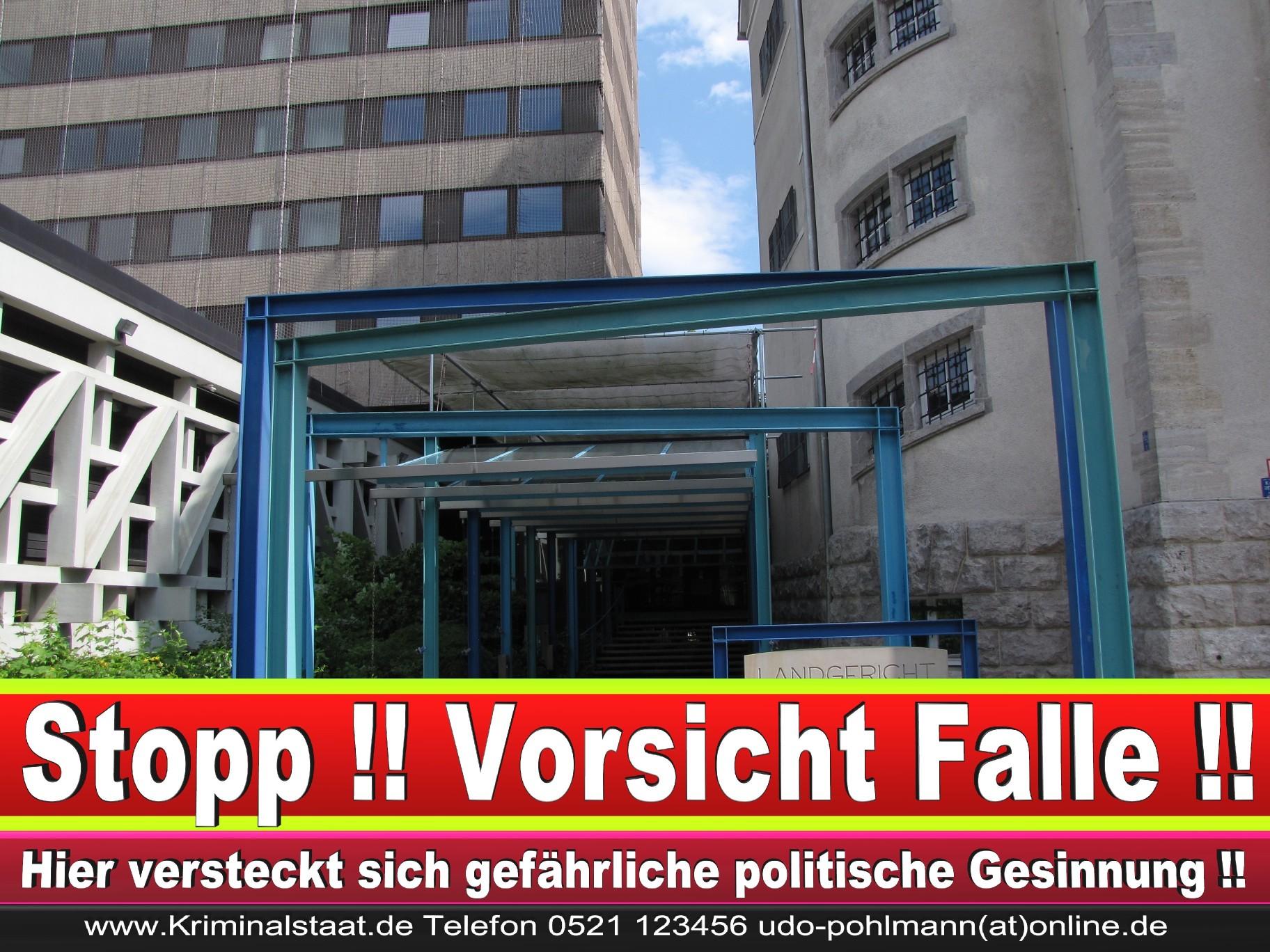 CDU Landgericht Bielefeld Landgerichtspräsident Klaus Petermann Hochstraße Bünde Jens Gnisa Richterbund Richtervereinigung 8