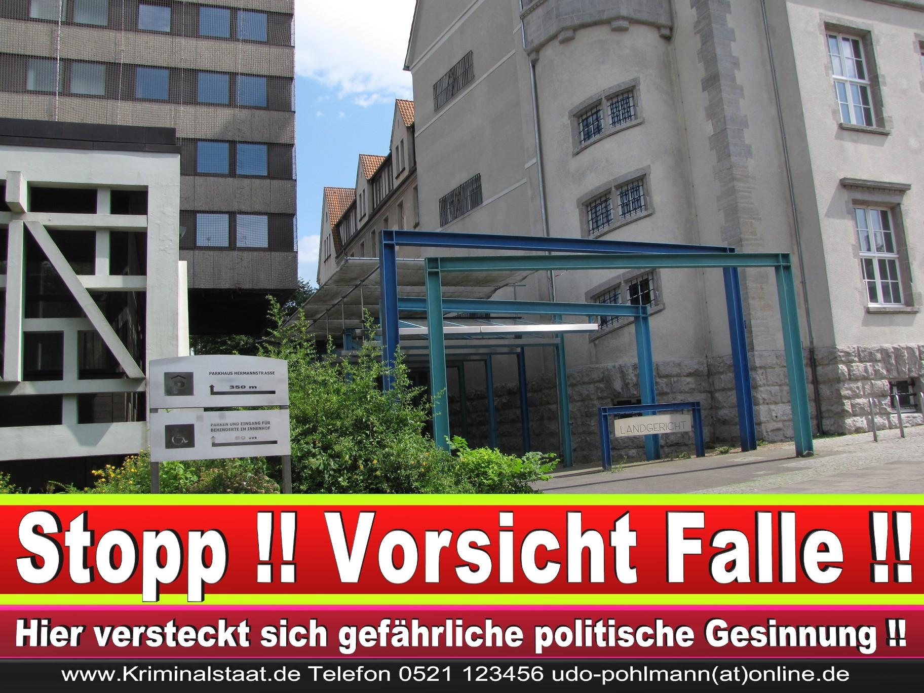 CDU Landgericht Bielefeld Landgerichtspräsident Klaus Petermann Hochstraße Bünde Jens Gnisa Richterbund Richtervereinigung 9