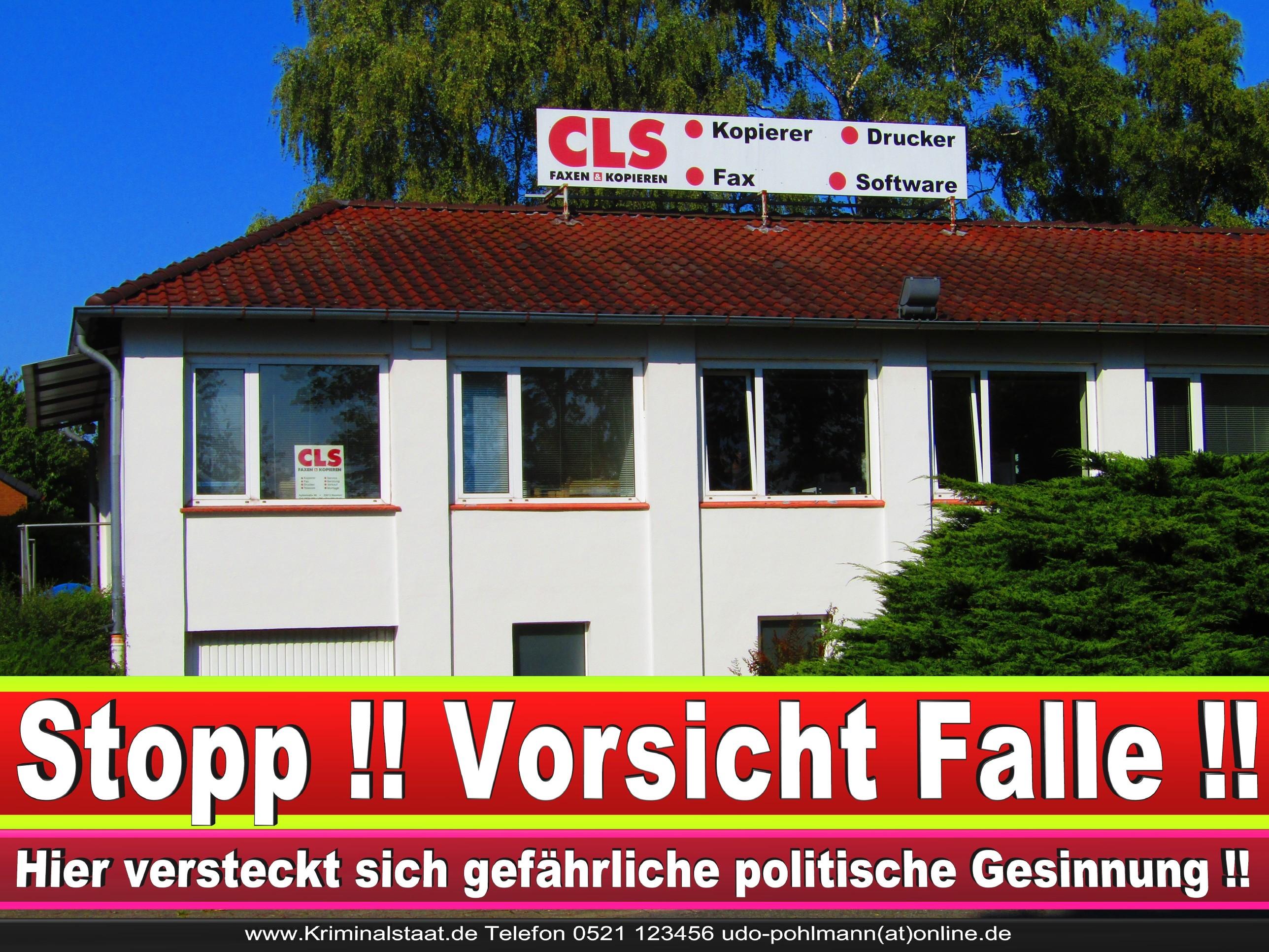 CLS MENSCH UND BÜRO GMBH CDU BIELEFELD 1 LANDTAGSWAHL BUNDESTAGSWAHL BÜRGERMEISTERWAHL
