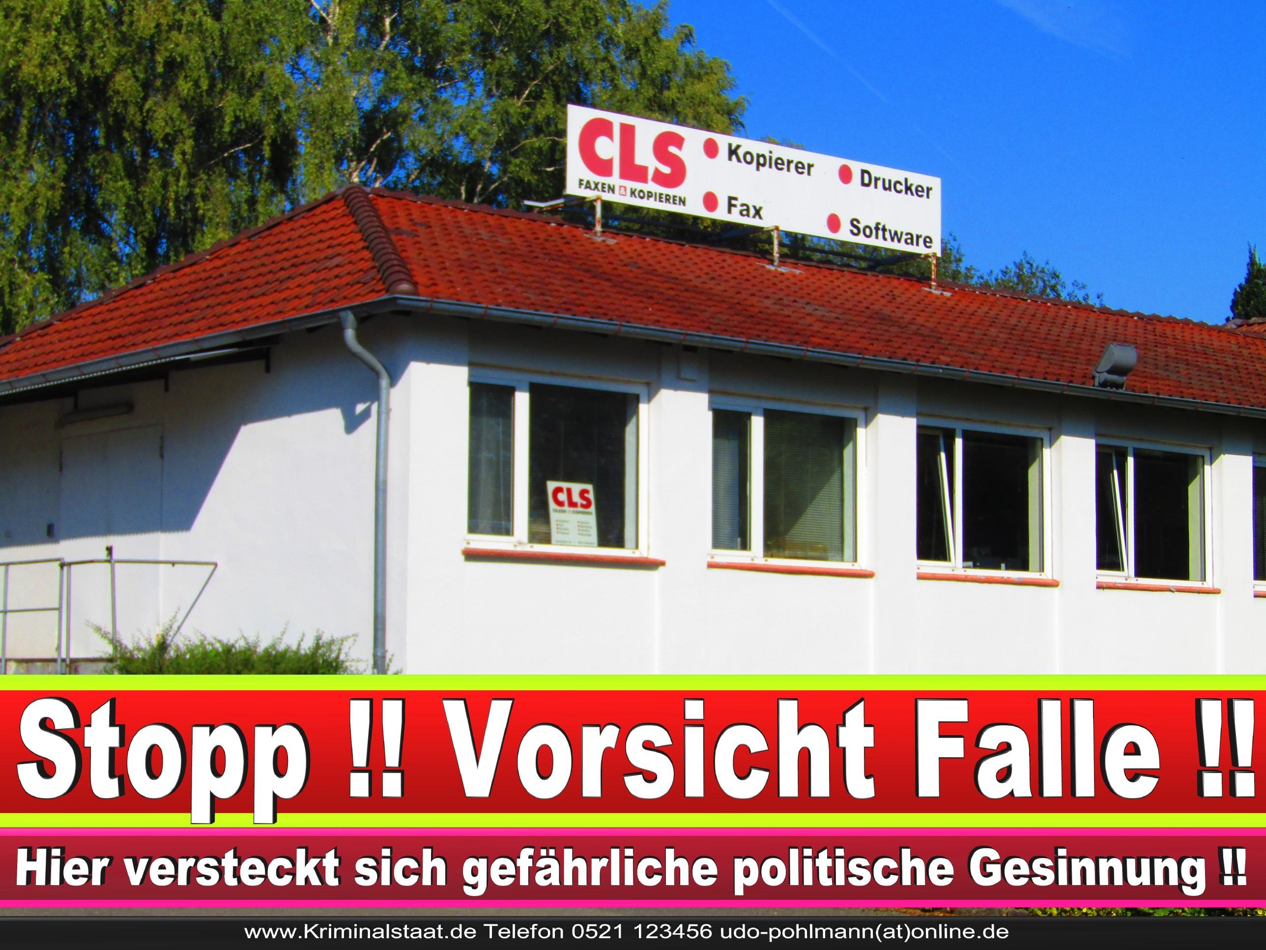 CLS MENSCH UND BÜRO GMBH CDU BIELEFELD 3 LANDTAGSWAHL BUNDESTAGSWAHL BÜRGERMEISTERWAHL