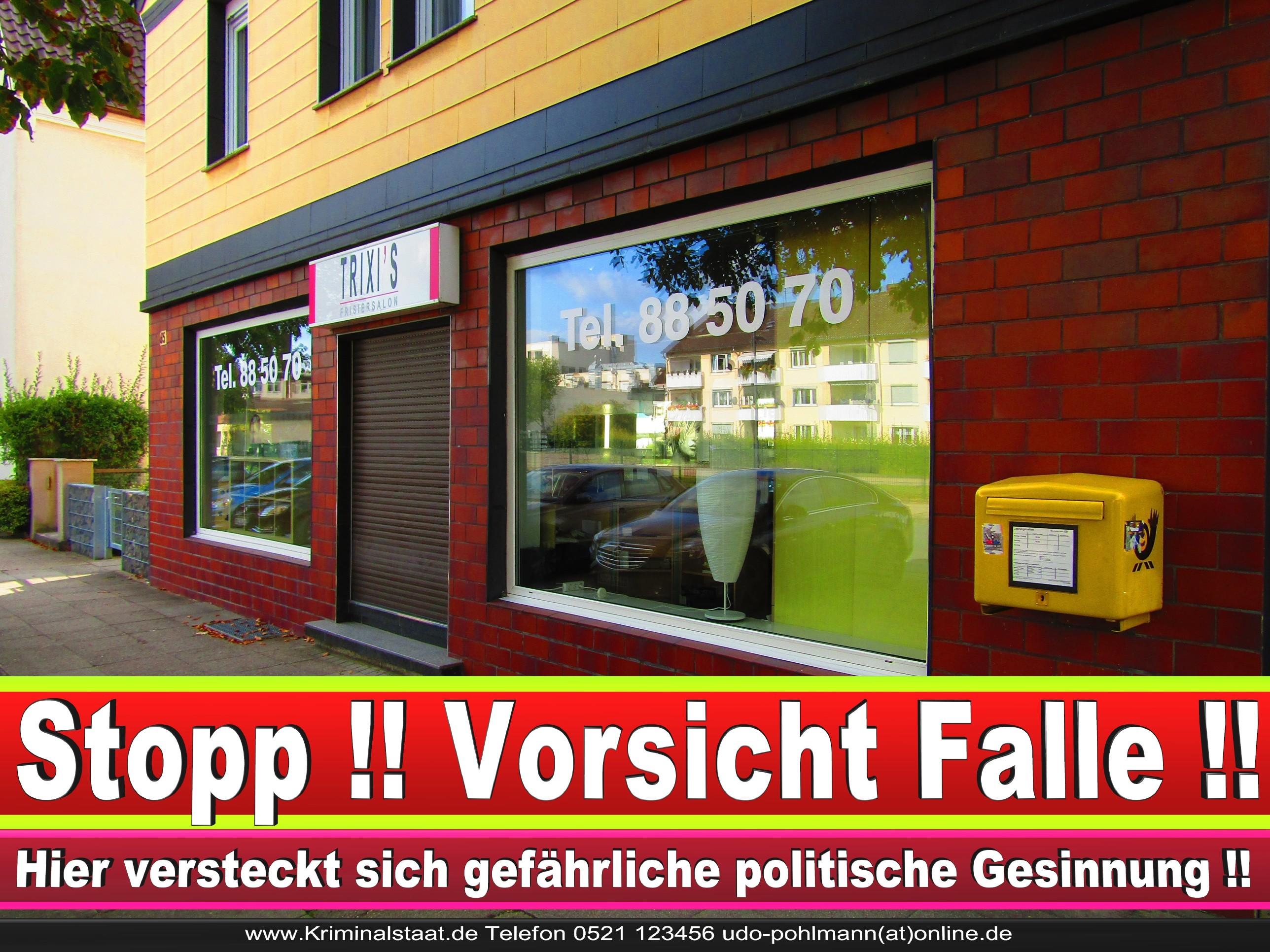 PATRICIA WEHMEYER TRIXI CDU BIELEFELD HAIRSALON FRISEUR 11 LANDTAGSWAHL BUNDESTAGSWAHL BÜRGERMEISTERWAHL