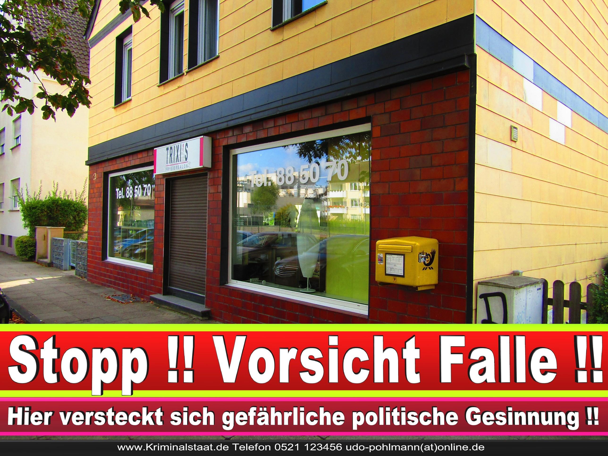 PATRICIA WEHMEYER TRIXI CDU BIELEFELD HAIRSALON FRISEUR 12 LANDTAGSWAHL BUNDESTAGSWAHL BÜRGERMEISTERWAHL
