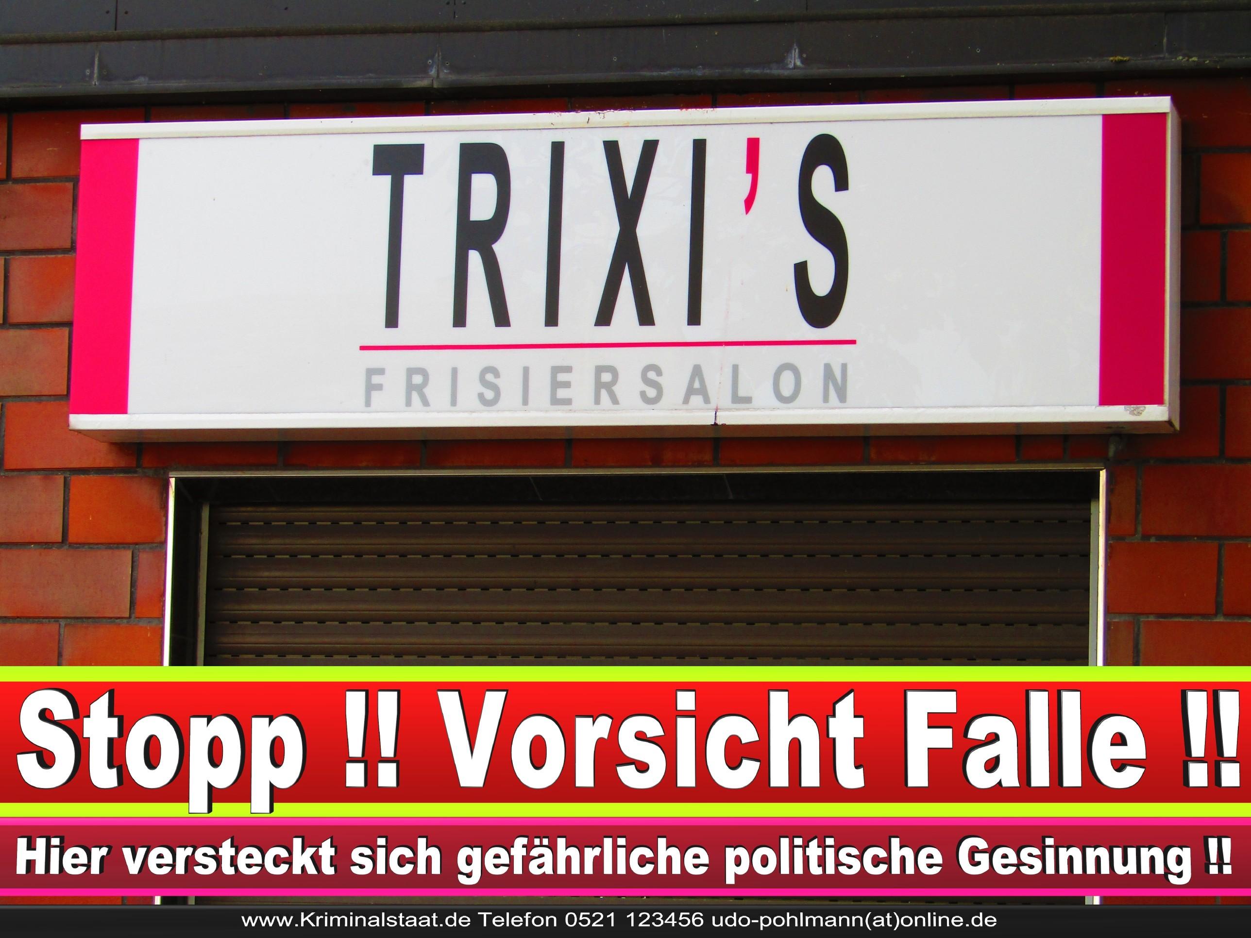 PATRICIA WEHMEYER TRIXI CDU BIELEFELD HAIRSALON FRISEUR 13 LANDTAGSWAHL BUNDESTAGSWAHL BÜRGERMEISTERWAHL