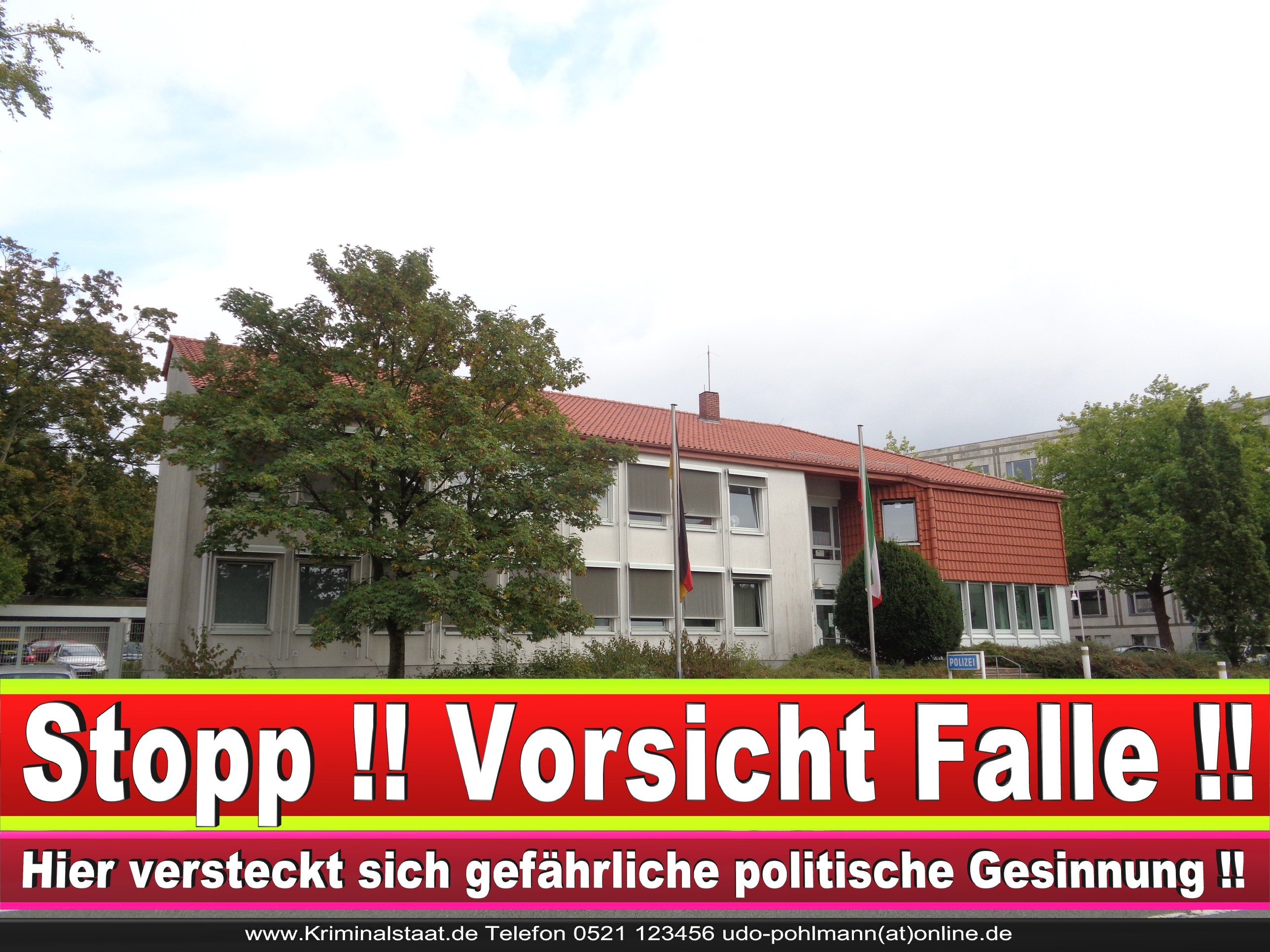 Polizei Brackwede Bielefeld Süd Ost Mitte Korruption In Bielefeld (1)