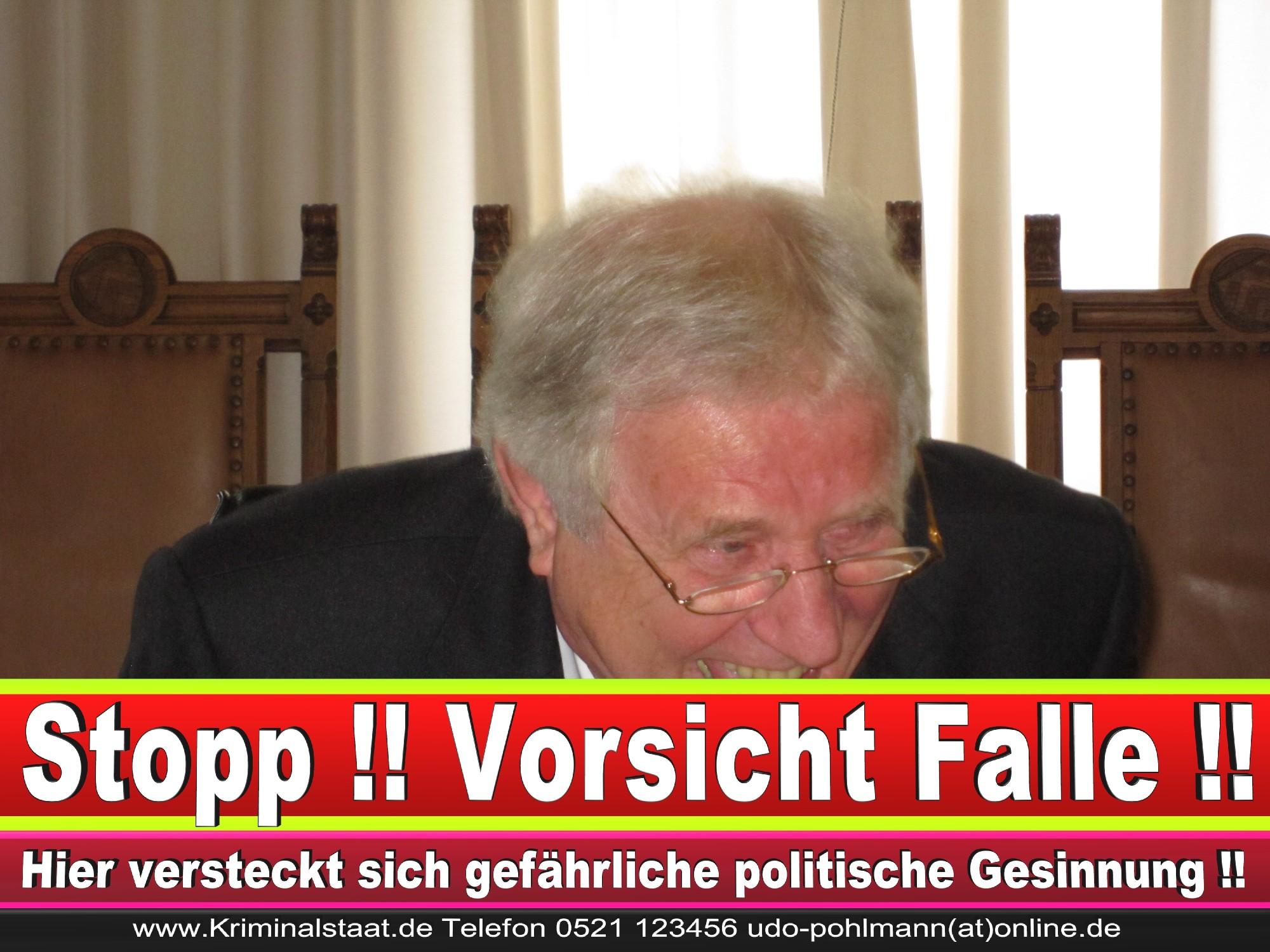 Polizeipräsident Erwin Südfeld Bielefeld Oberbürgermeister Bürgermeister Peter Clausen Pit Clausen Bielefeld (4)
