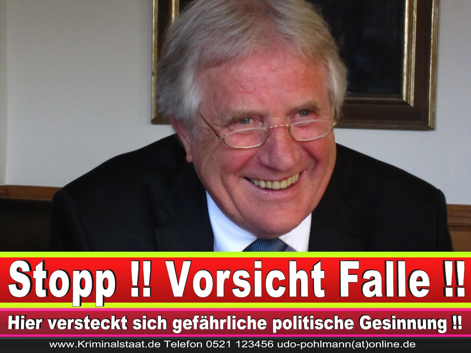 Polizeipräsident Erwin Südfeld Bielefeld Oberbürgermeister Bürgermeister Peter Clausen Pit Clausen Bielefeld 58