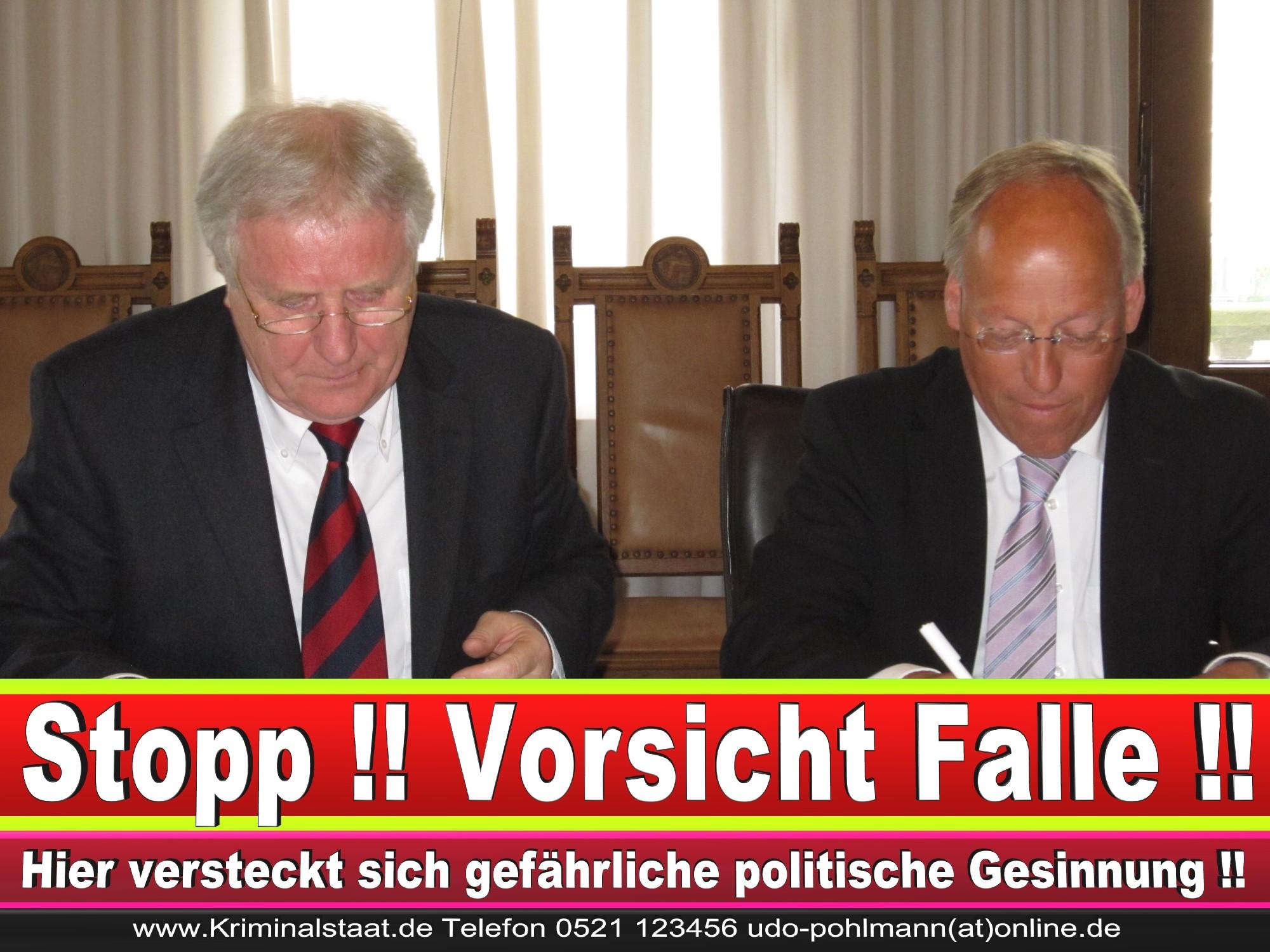 Polizeipräsident Erwin Südfeld Bielefeld Oberbürgermeister Bürgermeister Peter Clausen Pit Clausen Bielefeld (6)