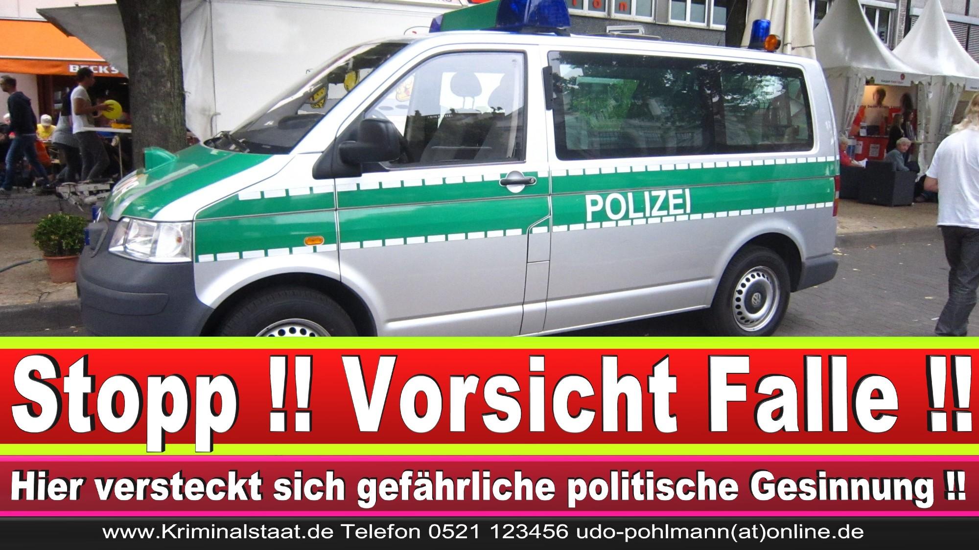 Polizeipräsidentin Katharina Giere Polizei Bielefeld NRW Erwin Südfeld Horst Kruse Polizeiuniform Polizeigewalt DEMONSTRATION Bahnhof (1)
