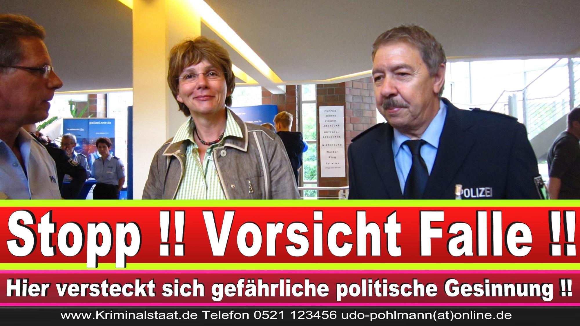 Polizeipräsidentin Katharina Giere Polizei Bielefeld NRW Erwin Südfeld Horst Kruse Polizeiuniform Polizeigewalt DEMONSTRATION Bahnhof (14) 1
