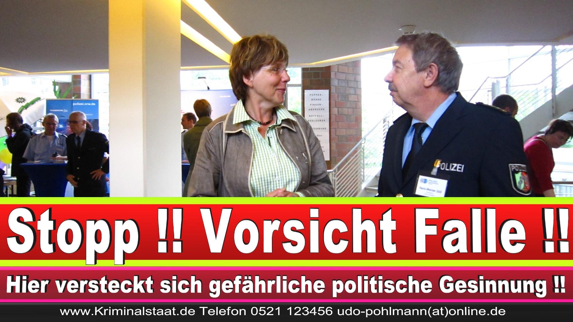 Polizeipräsidentin Katharina Giere Polizei Bielefeld NRW Erwin Südfeld Horst Kruse Polizeiuniform Polizeigewalt DEMONSTRATION Bahnhof (25) 1
