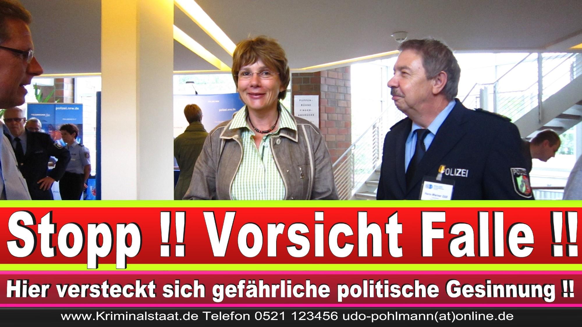 Polizeipräsidentin Katharina Giere Polizei Bielefeld NRW Erwin Südfeld Horst Kruse Polizeiuniform Polizeigewalt DEMONSTRATION Bahnhof (29) 1
