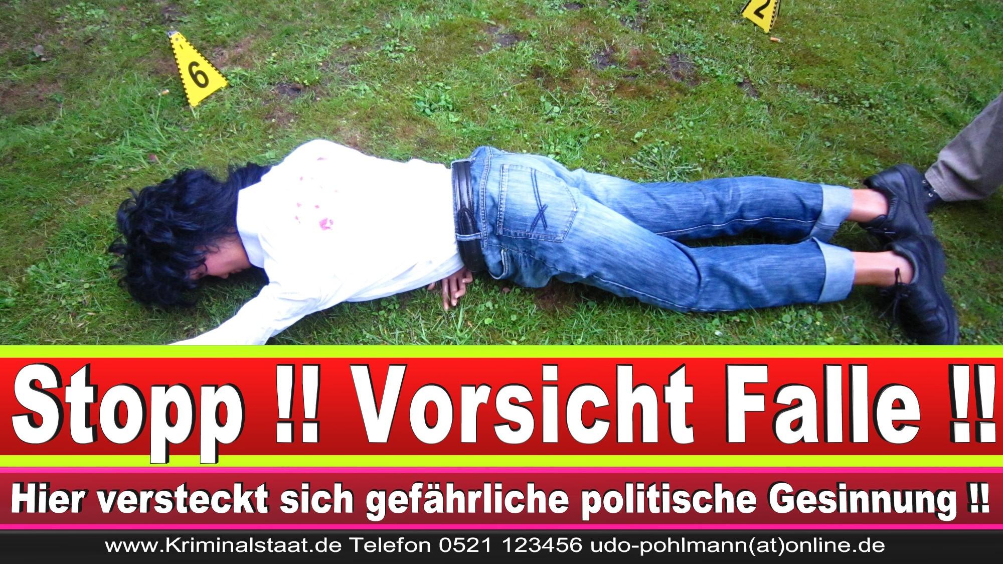 Polizeipräsidentin Katharina Giere Polizei Bielefeld NRW Erwin Südfeld Horst Kruse Polizeiuniform Polizeigewalt DEMONSTRATION Bahnhof (2) 1