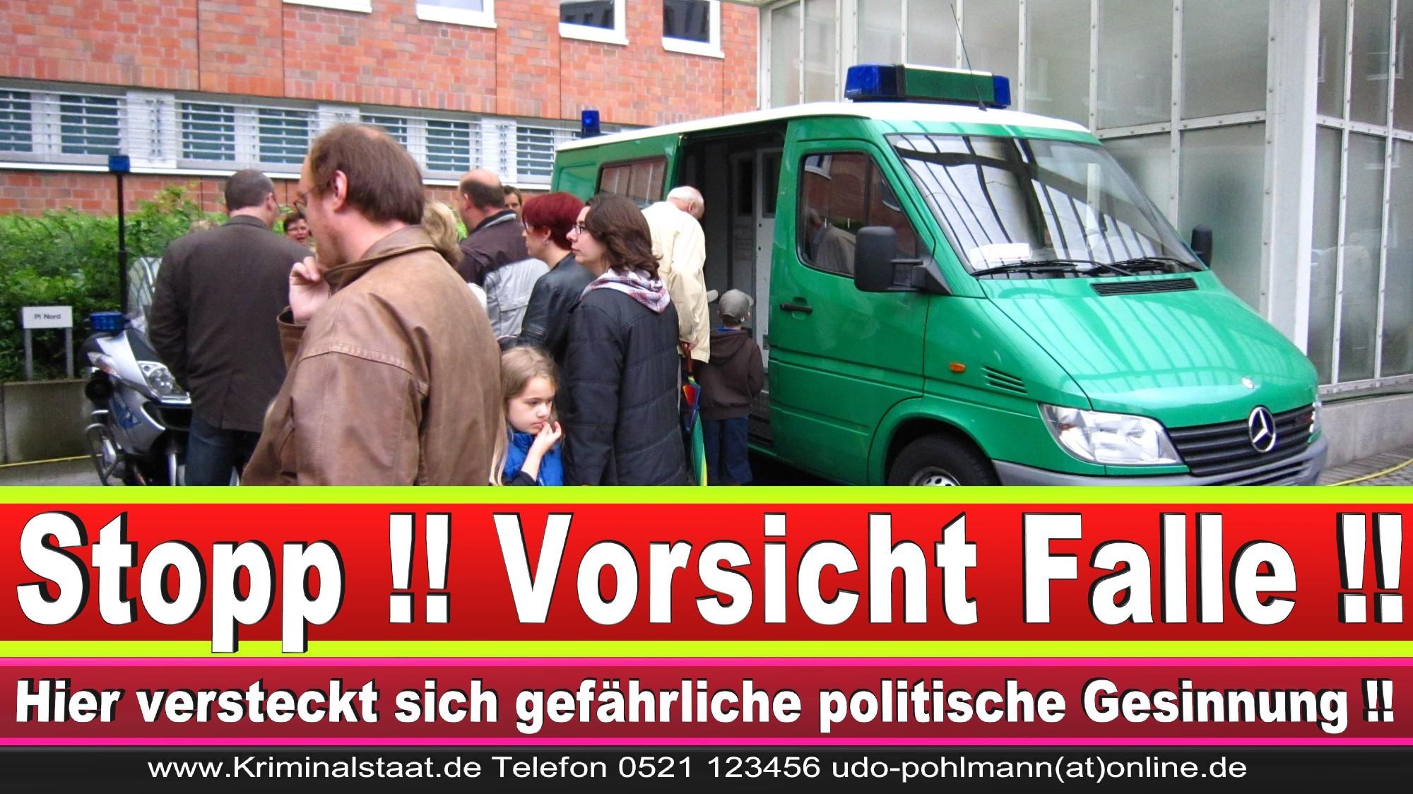 Polizeipräsidentin Katharina Giere Polizei Bielefeld NRW Erwin Südfeld Horst Kruse Polizeiuniform Polizeigewalt DEMONSTRATION Bahnhof (5) 1