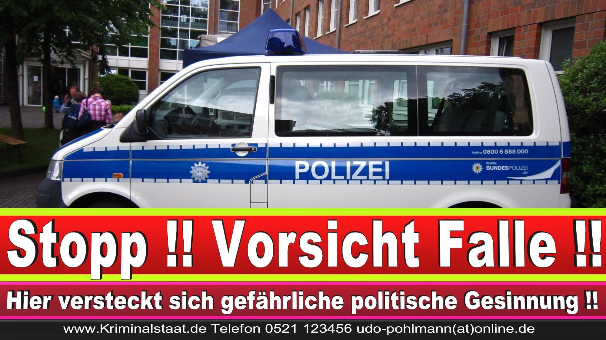 Polizeipräsidentin Katharina Giere Polizei Bielefeld NRW Erwin Südfeld Horst Kruse Polizeiuniform Polizeigewalt DEMONSTRATION Bahnhof (8) 1