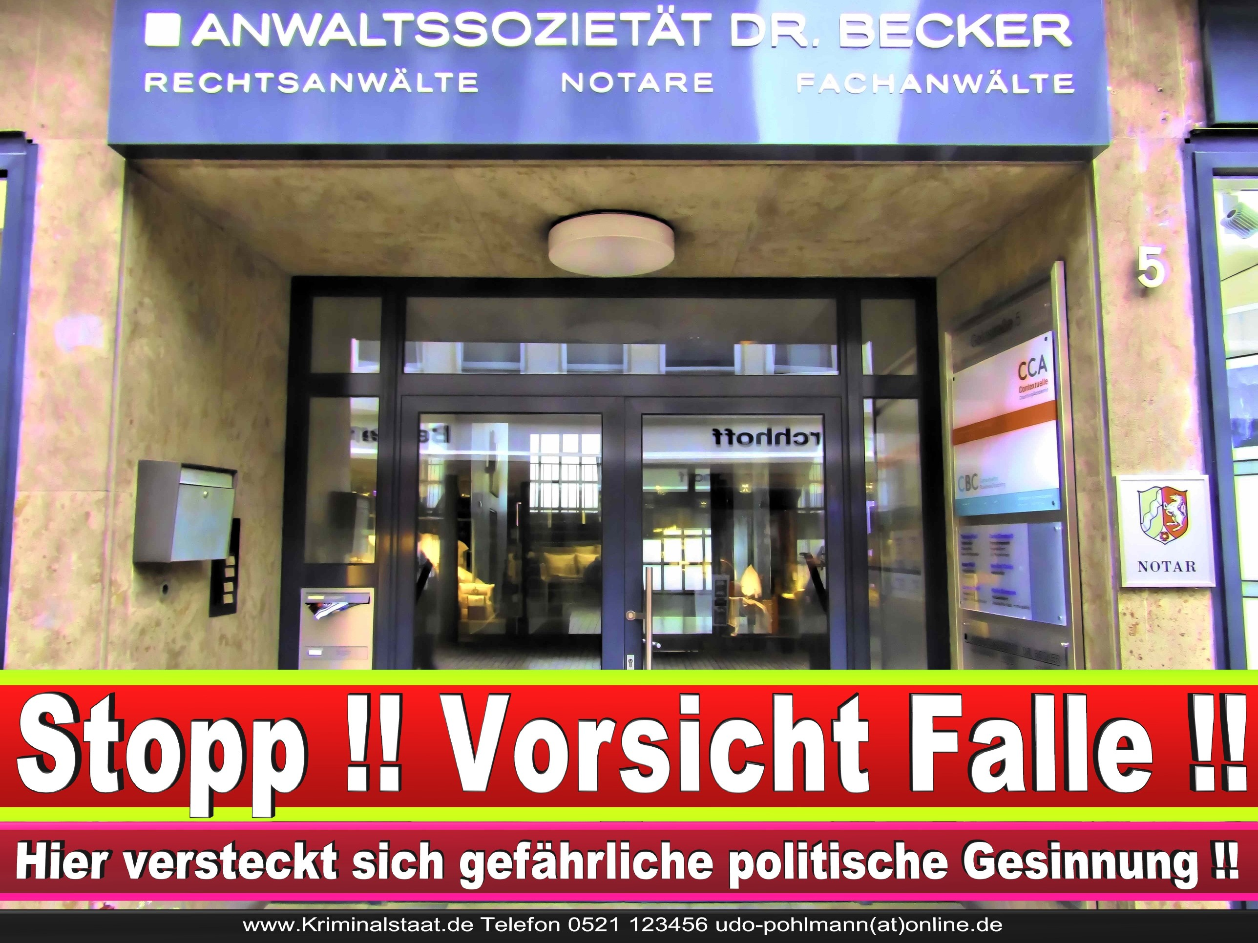 RECHTSANWALT DR THORSTEN FELDMANN CDU BIELEFELD Rechtsanwalt Und Notar A D Werner Kaup LANDTAGSWAHL BUNDESTAGSWA L BÜRGERMEISTER AHL NRW 2
