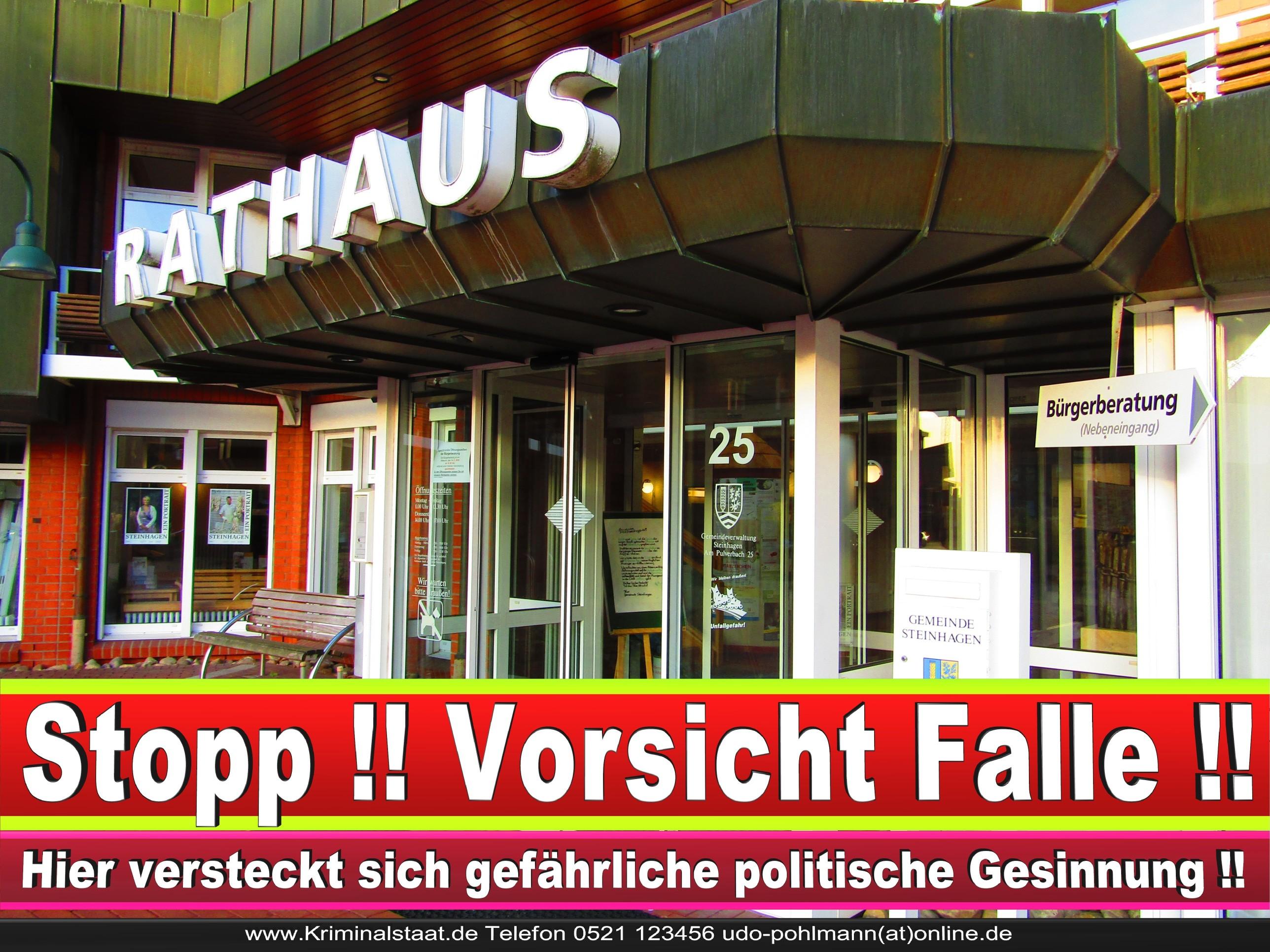 Rathaus Steinhagen CDU SPD FDP Ortsverband CDU Bürgerbüro CDU SPD Korruption Polizei Bürgermeister Karte Telefonbuch NRW OWL (13)