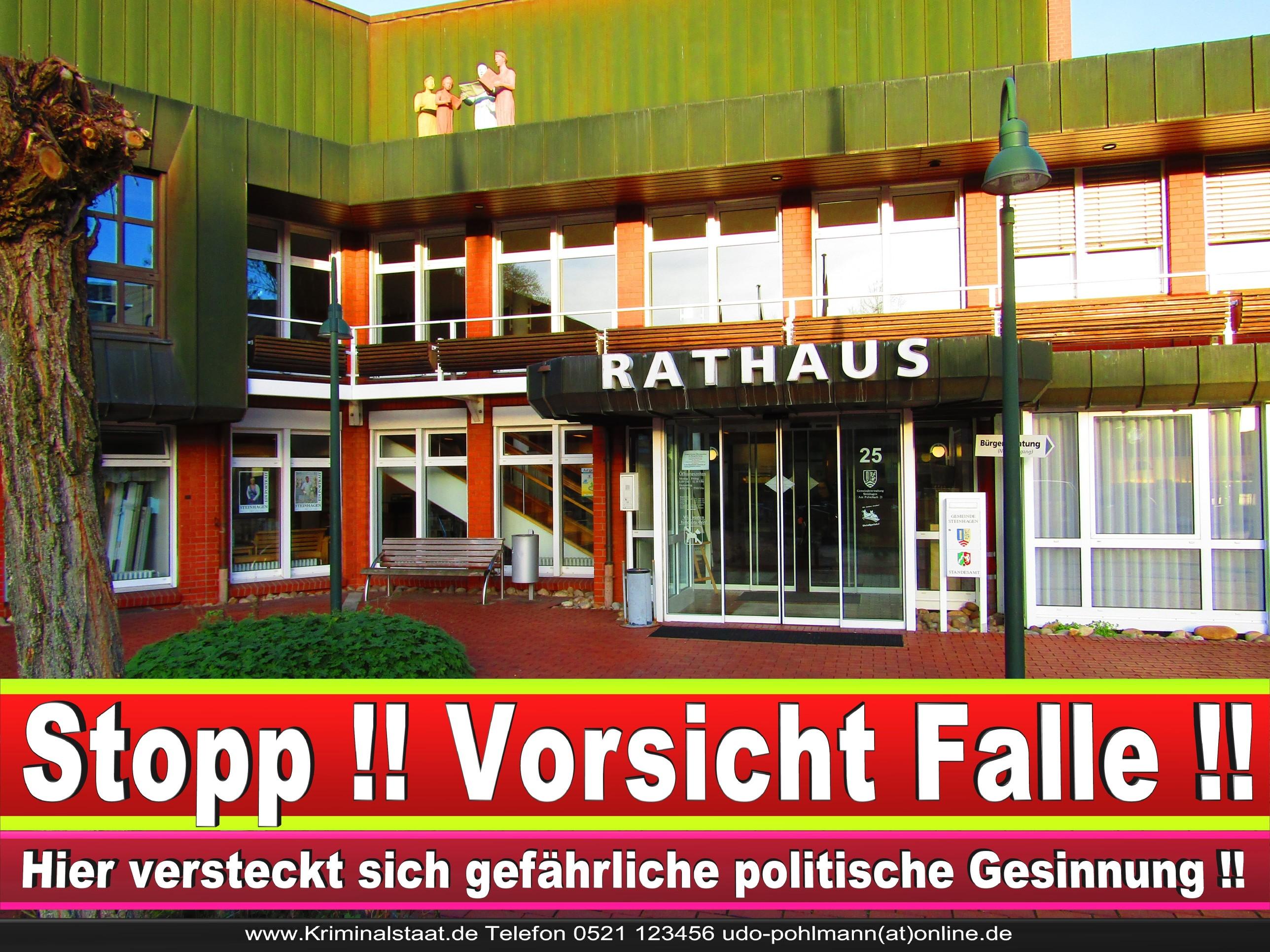 Rathaus Steinhagen CDU SPD FDP Ortsverband CDU Bürgerbüro CDU SPD Korruption Polizei Bürgermeister Karte Telefonbuch NRW OWL (14)