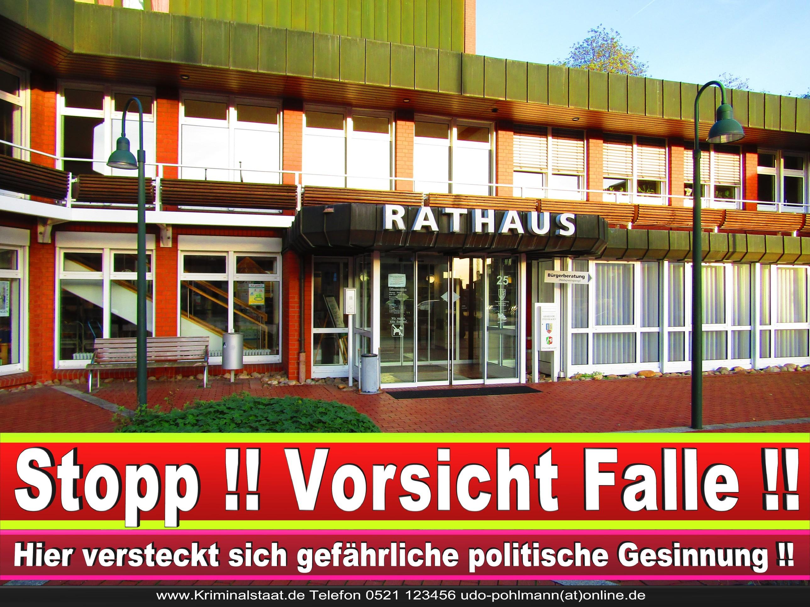 Rathaus Steinhagen CDU SPD FDP Ortsverband CDU Bürgerbüro CDU SPD Korruption Polizei Bürgermeister Karte Telefonbuch NRW OWL (17)