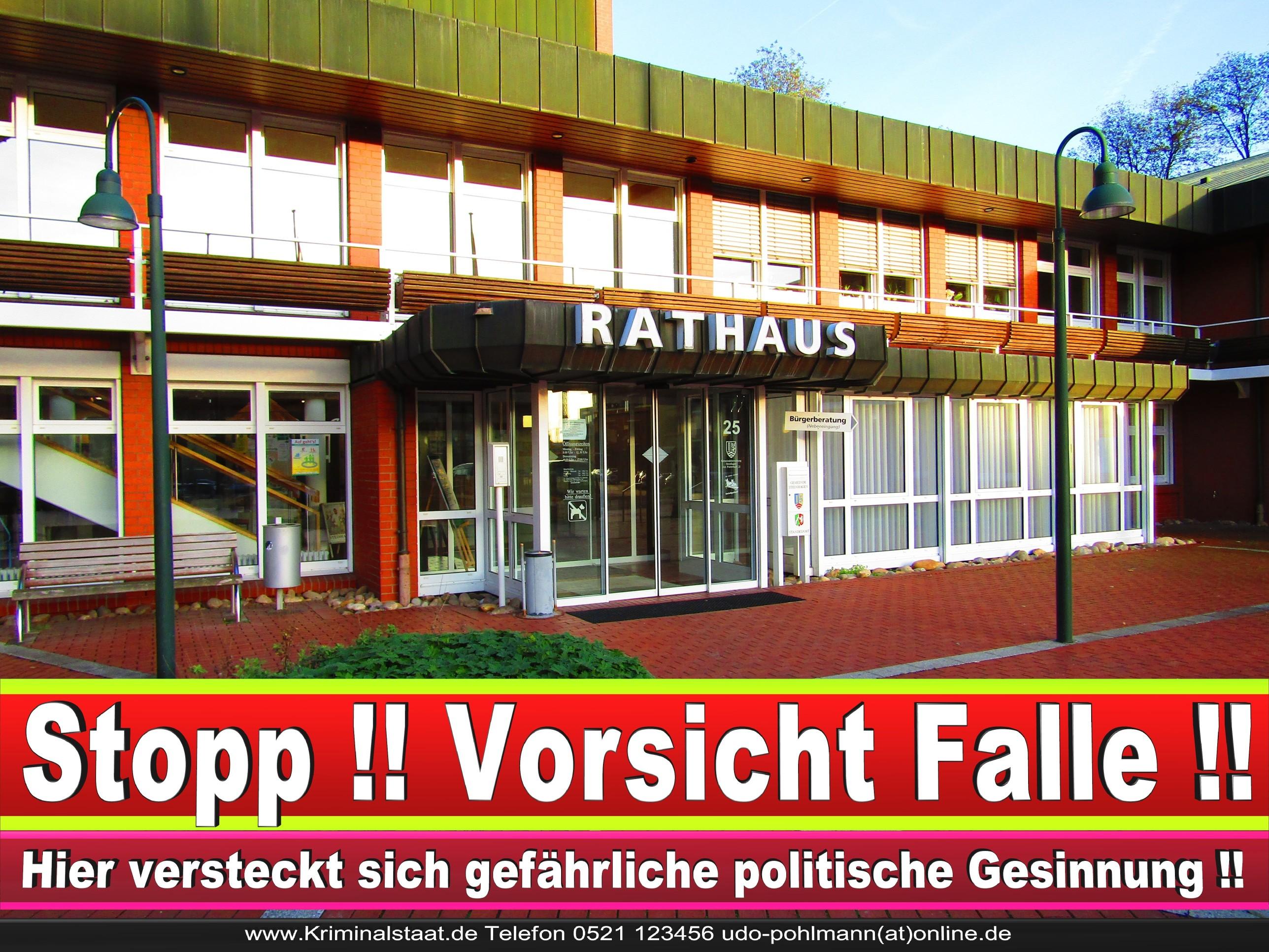 Rathaus Steinhagen CDU SPD FDP Ortsverband CDU Bürgerbüro CDU SPD Korruption Polizei Bürgermeister Karte Telefonbuch NRW OWL (18)