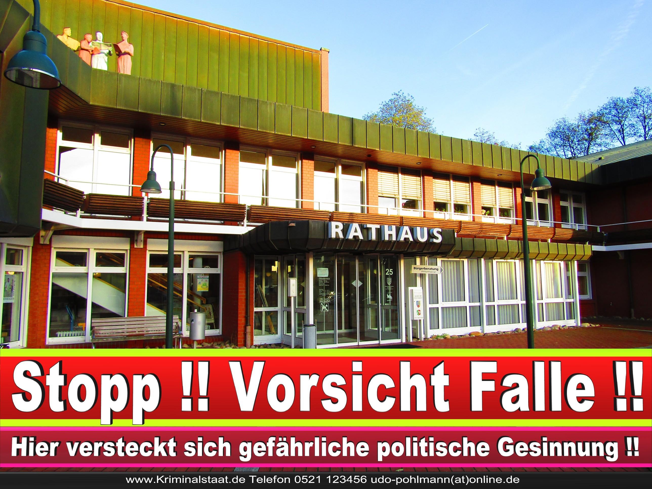 Rathaus Steinhagen CDU SPD FDP Ortsverband CDU Bürgerbüro CDU SPD Korruption Polizei Bürgermeister Karte Telefonbuch NRW OWL (20)