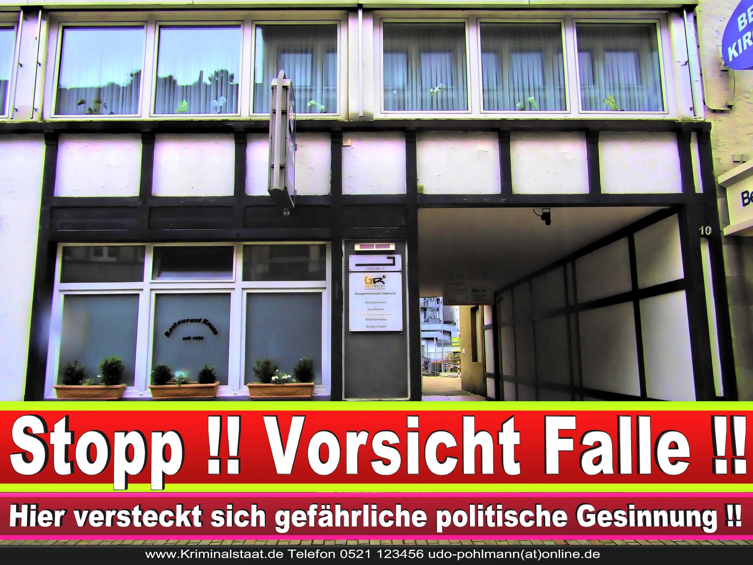 Rechtsanwältin Martina Füchtenhans Bielefeld CDU Bielefeld Goldrecht 1