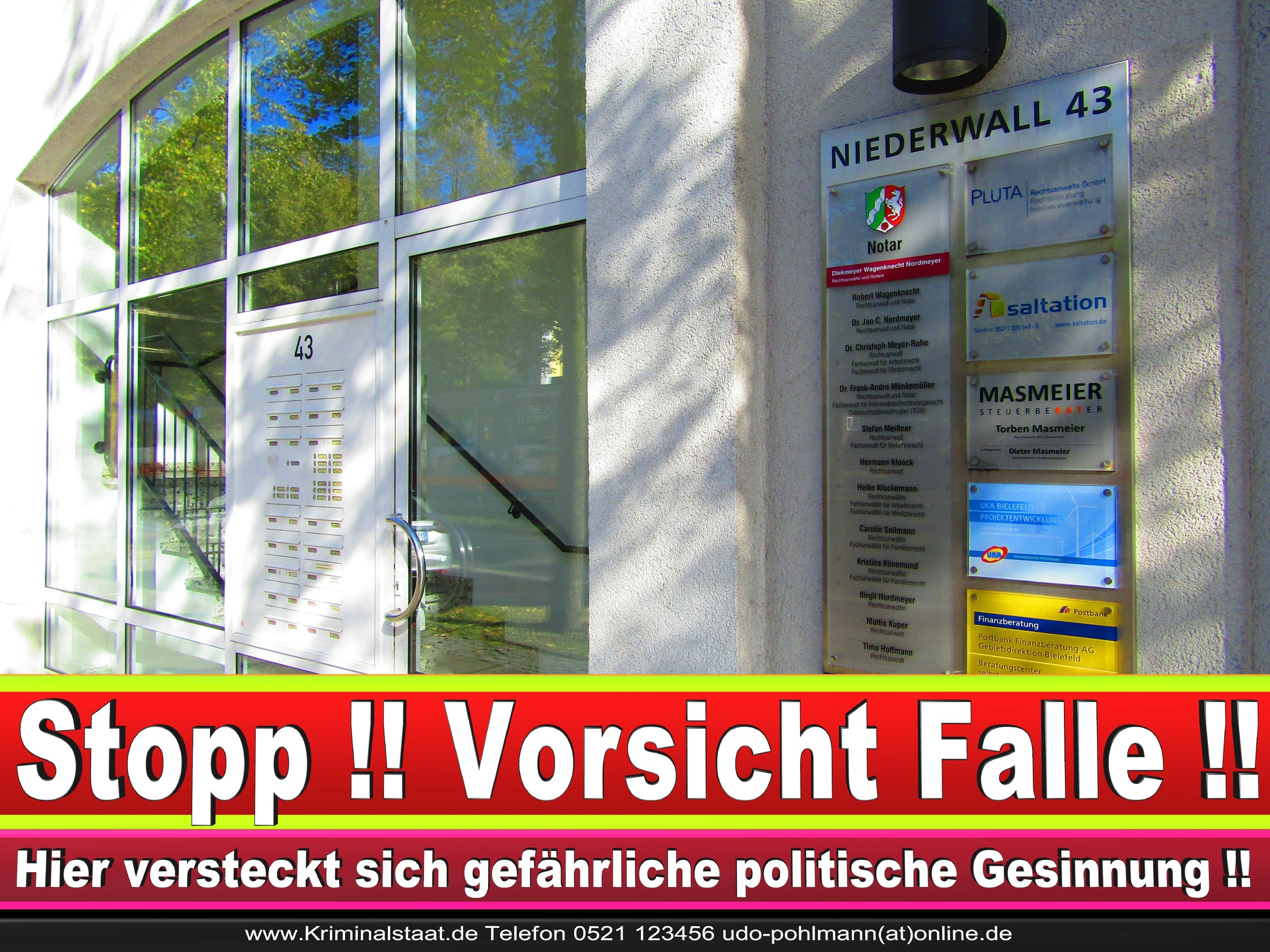 Rechtsanwältin Ricarda Osthus Niederwall 43 Bielefeld CDU 11
