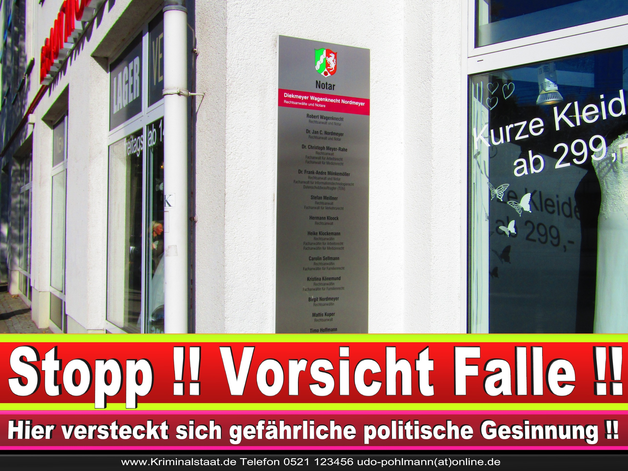 Rechtsanwältin Ricarda Osthus Niederwall 43 Bielefeld CDU 15