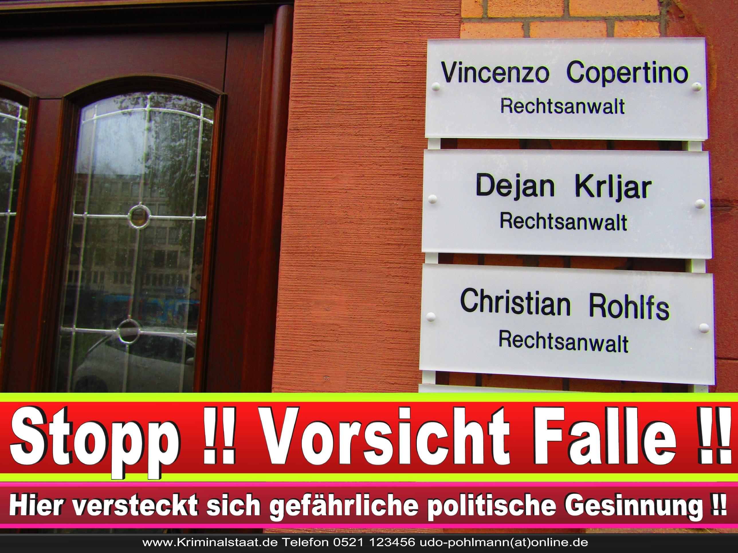 Rechtsanwalt Vincenzo Copertino Bielefeld Vincenzo Copertino Rechtsanwalt Siekerwall 7 33602 Bielefeld 3