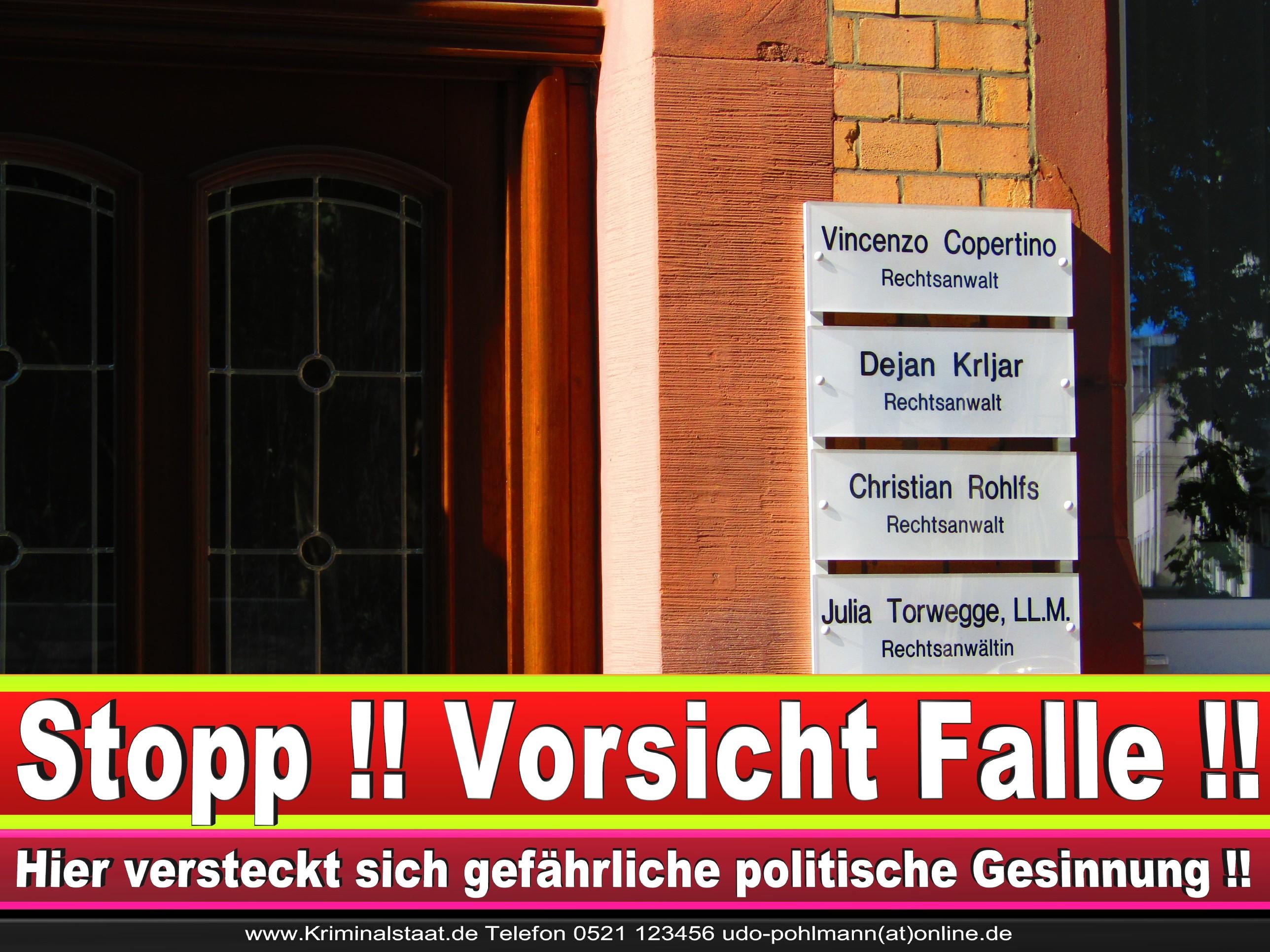 Rechtsanwalt Vincenzo Copertino Siekerwall 7 Bielefeld CDU 1