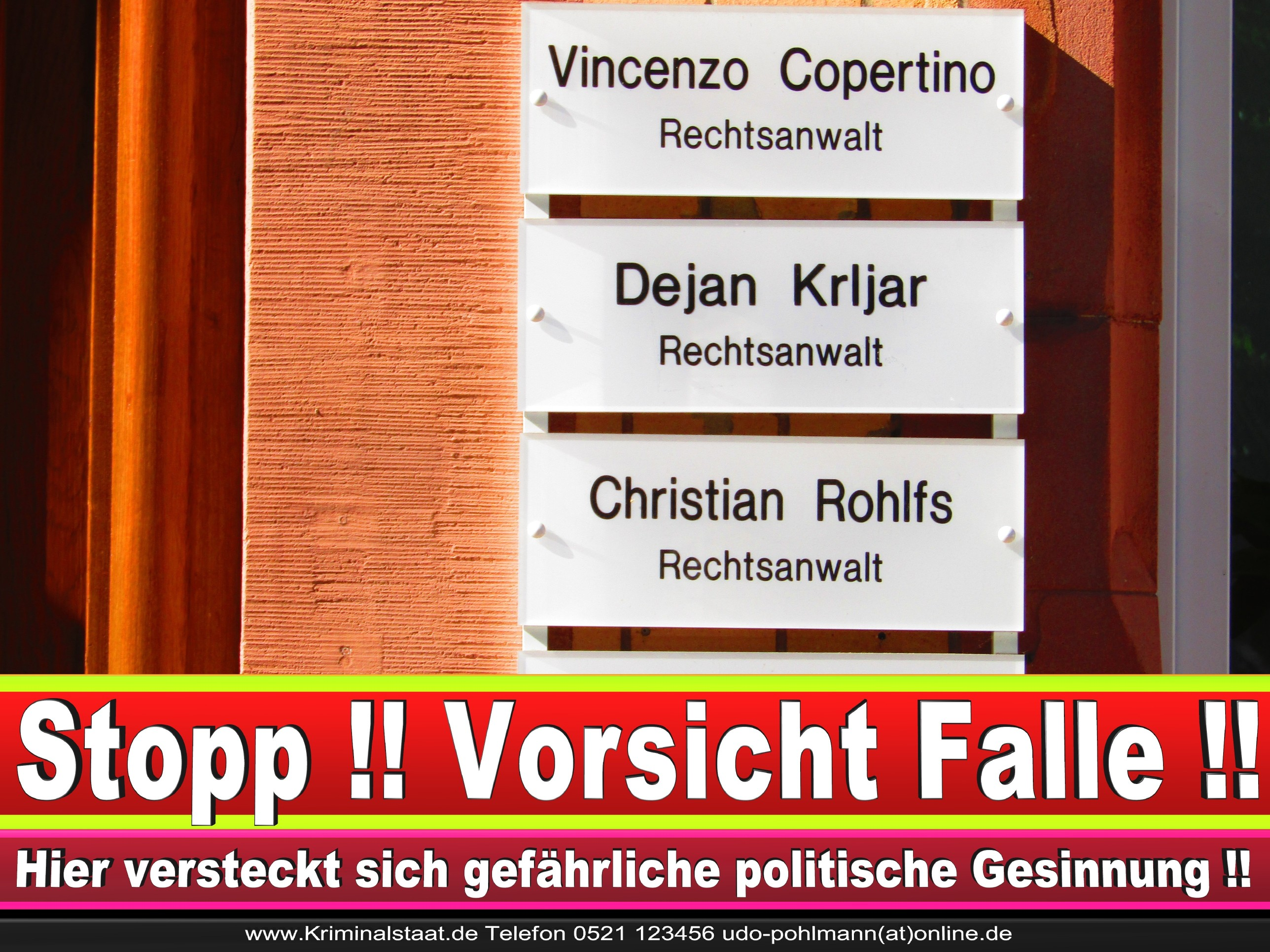 Rechtsanwalt Vincenzo Copertino Siekerwall 7 Bielefeld CDU 4